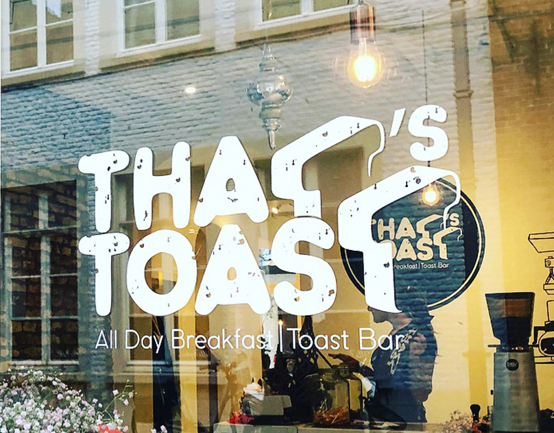 That's Toast Branding – All Day Breakfast Toast Bar