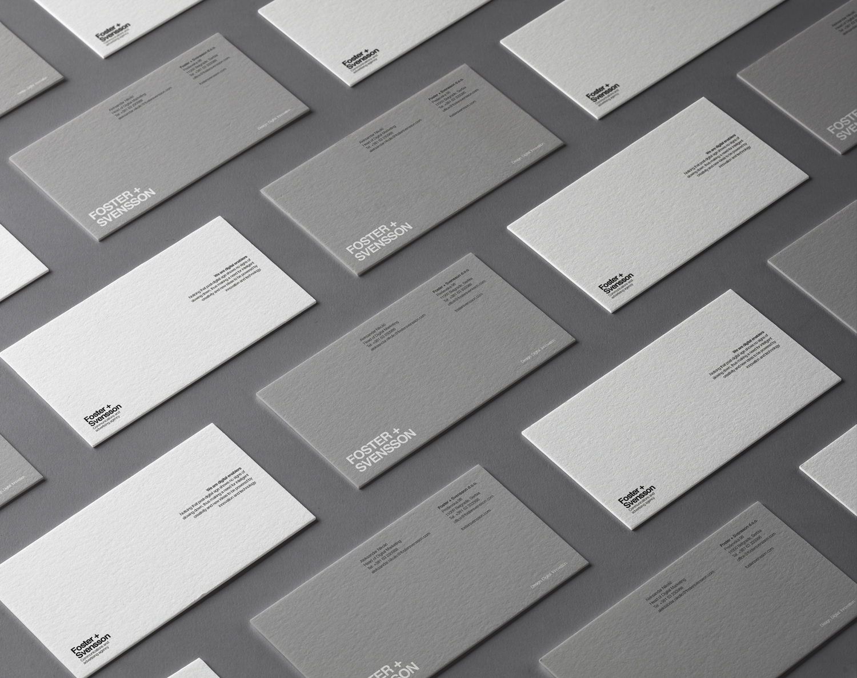Foster + Svensson brand identity
