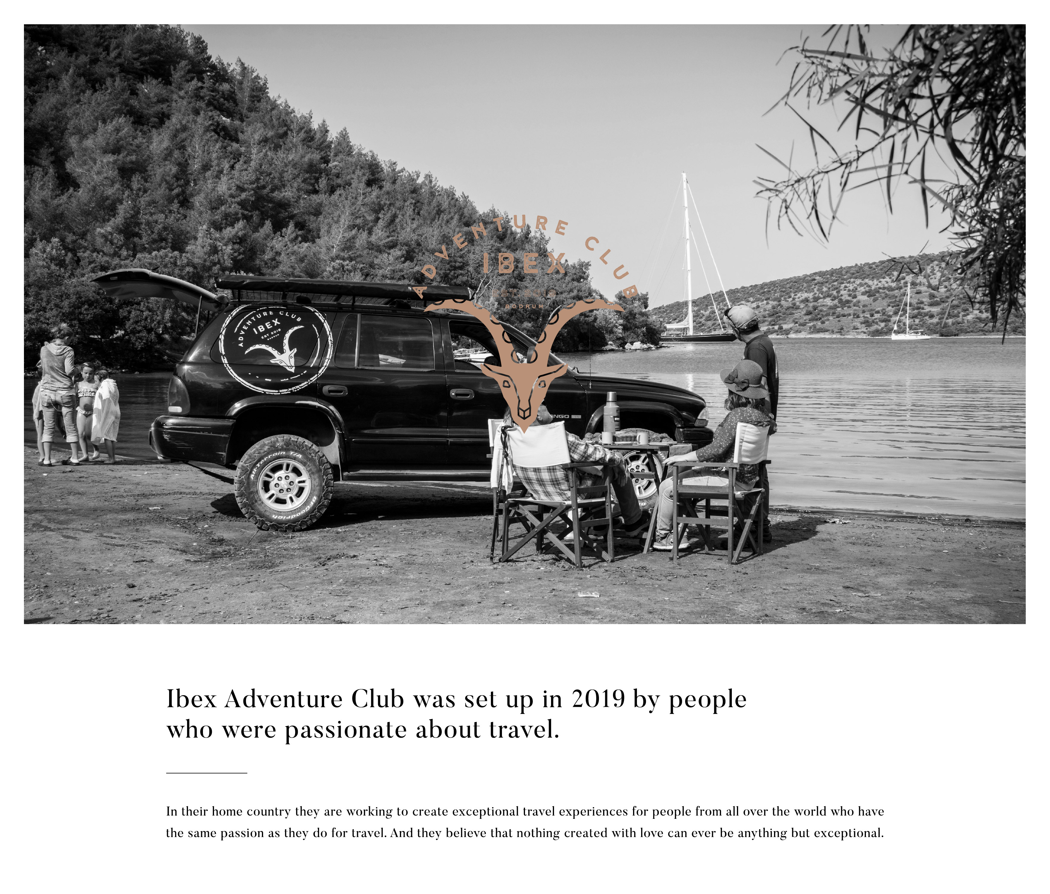 Ibex Adventure Club Brand Identity Design by Archigraphix