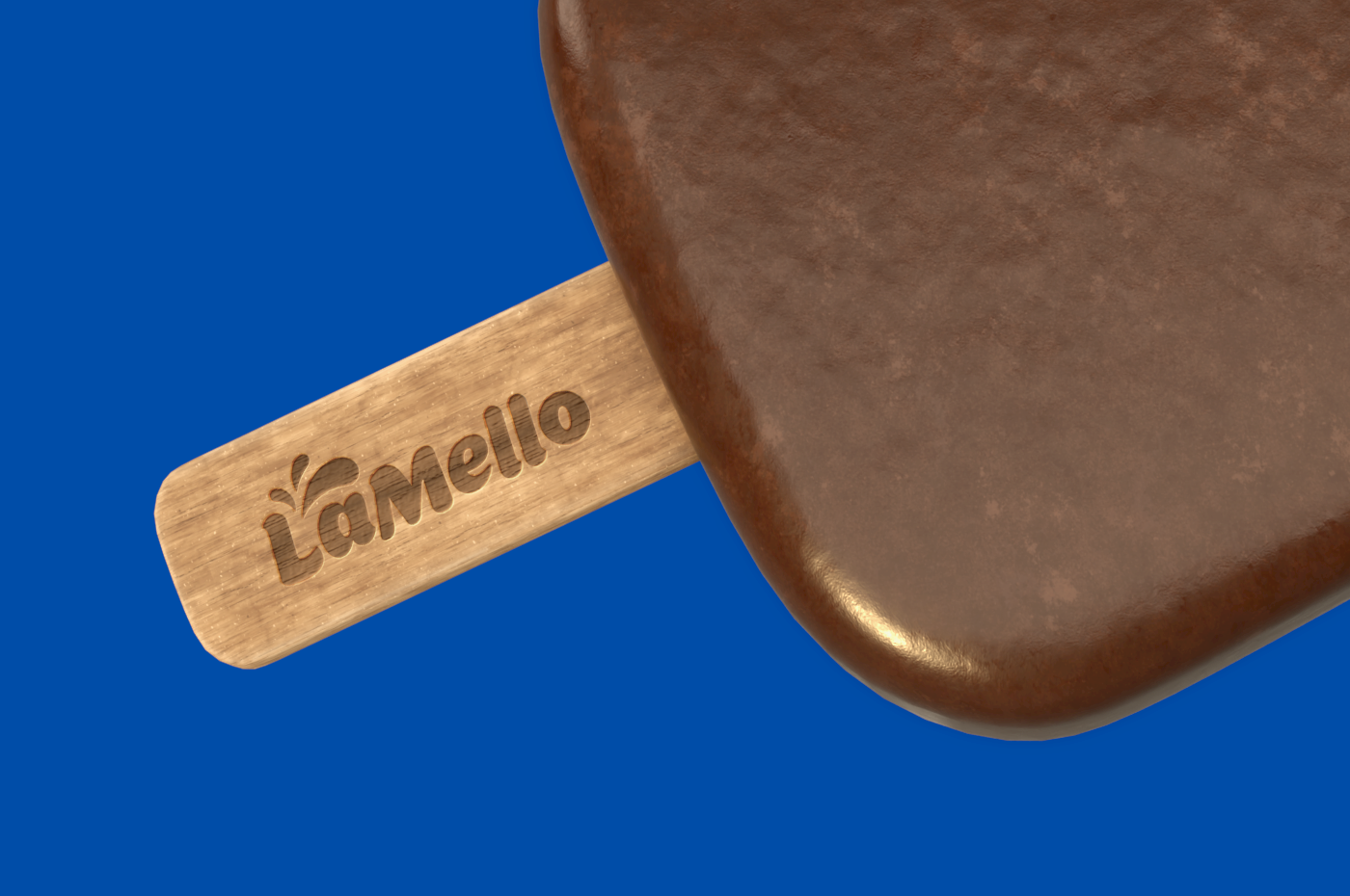 Lamello Ice Cream Brand and Packaging