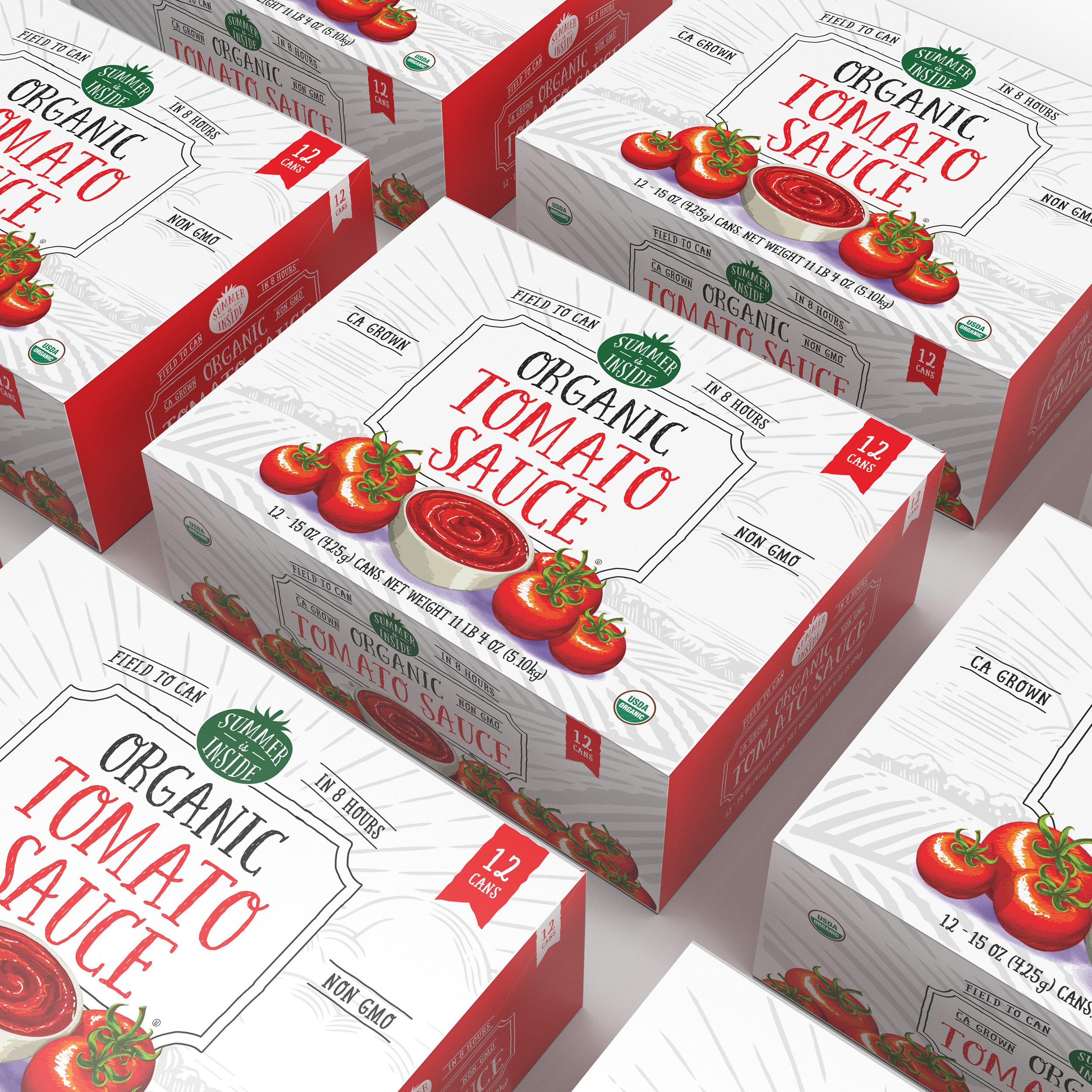 Summer Is Inside Organic Canned Tomatoes