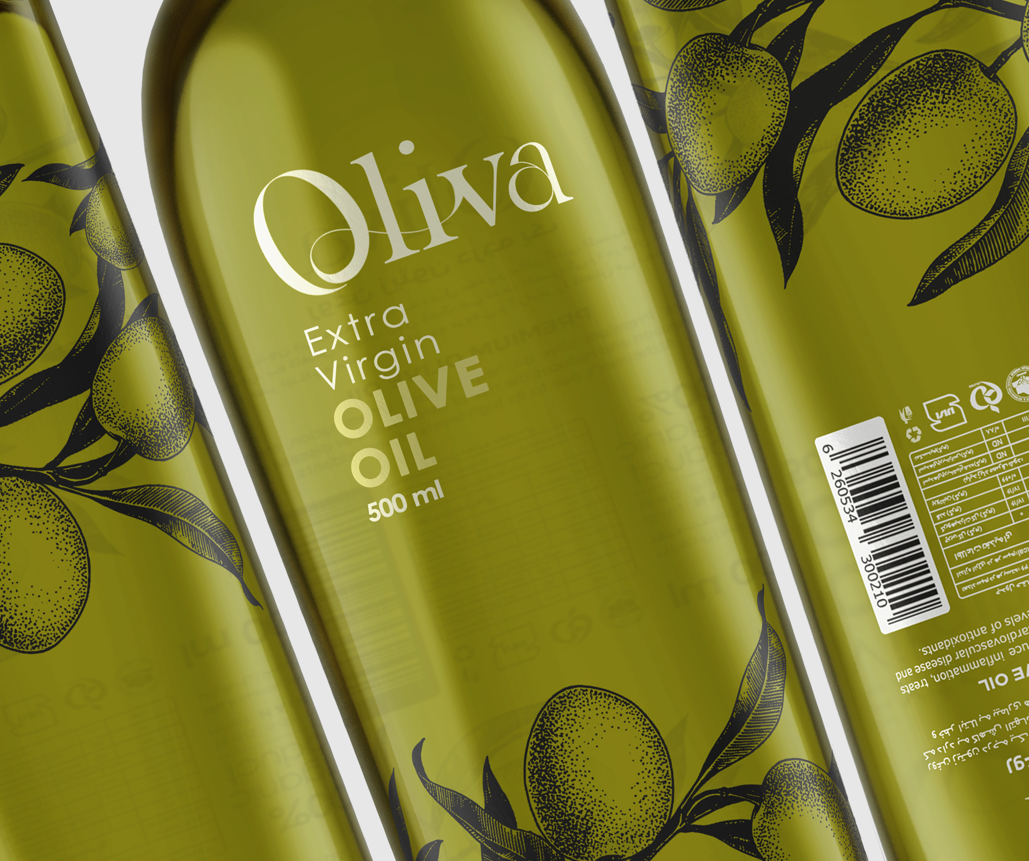 Studio Metis Olivia Olive Oil