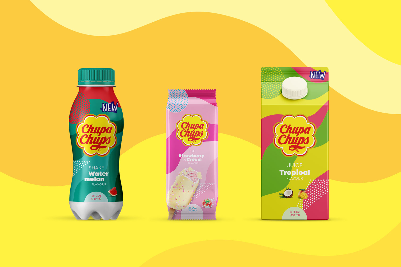 Vibranding designs the guidelines for Chupa Chups packaging licensing