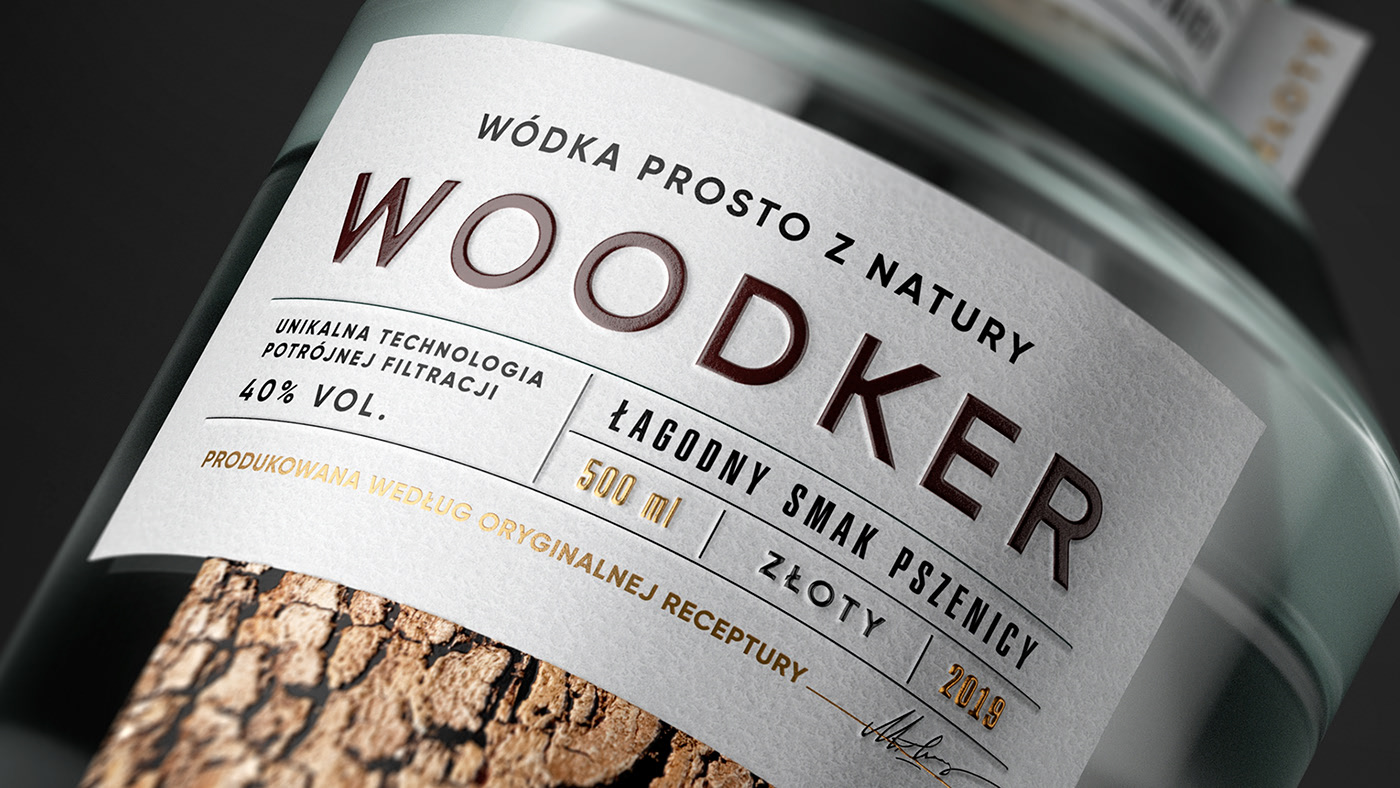 Moonshine trademark Woodker