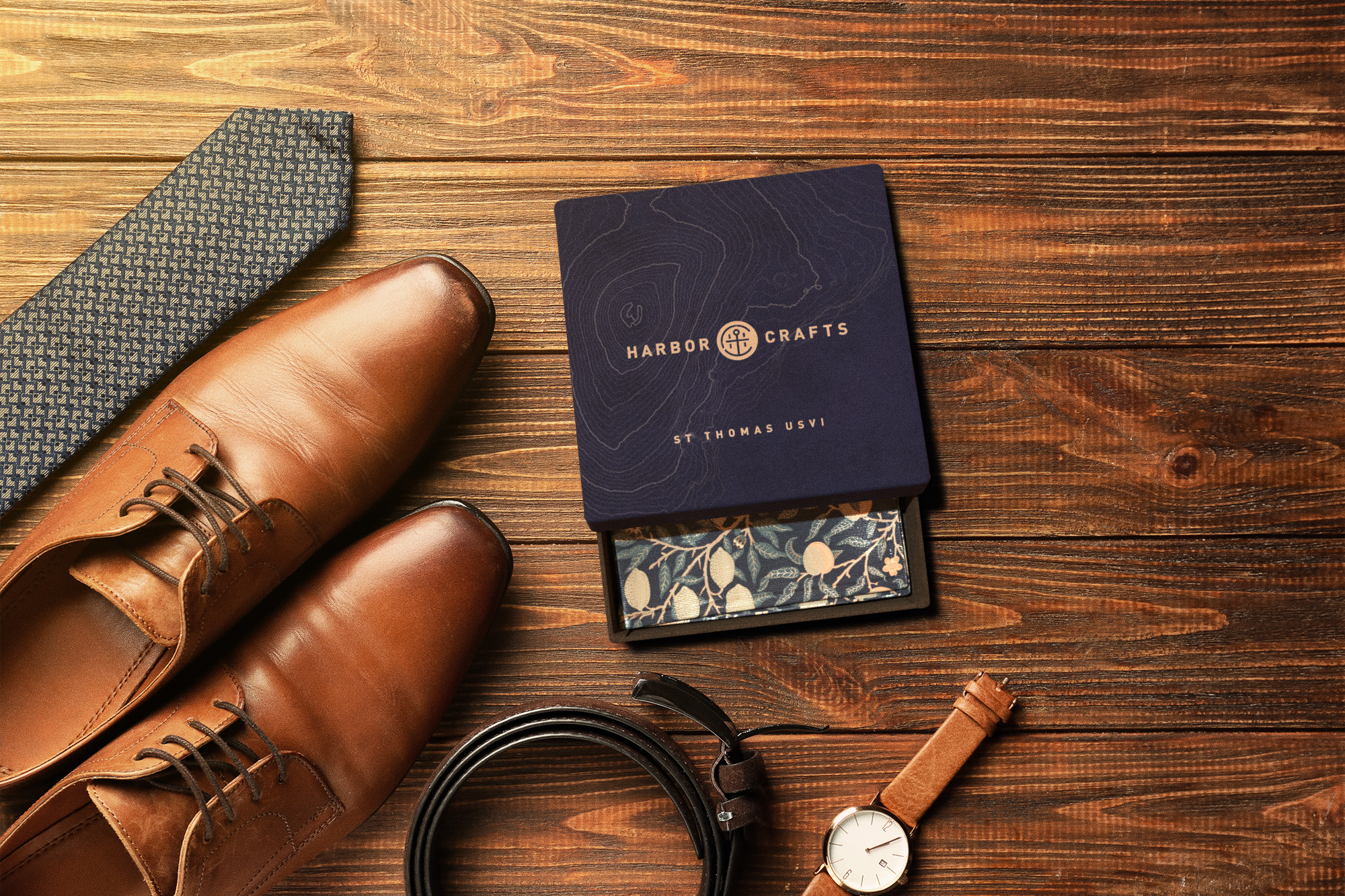 New Conceptual Men's Accessory Packaging: Harbor Crafts
