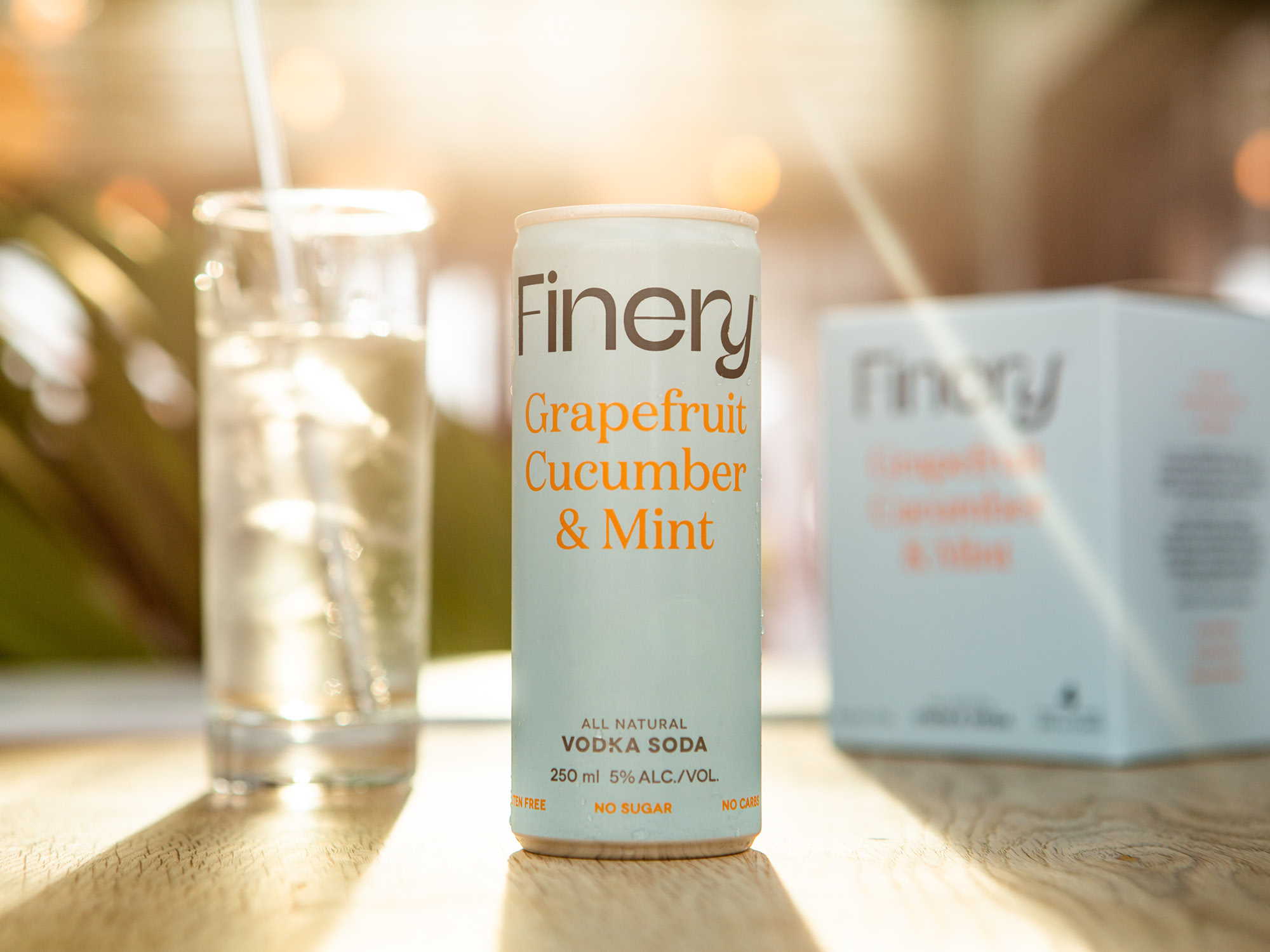 Finery Vodka Sodas. RTD cocktails for discerning grown-ups