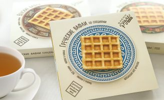 Branding and Packaging Design For a New Line of Waffles