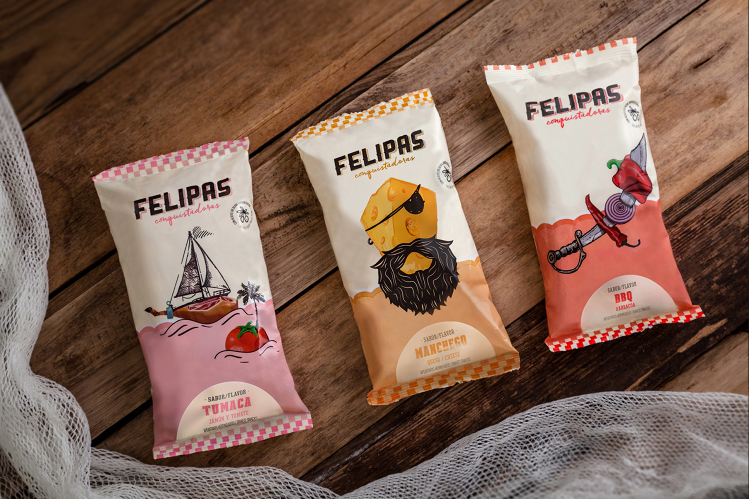 Felipas Conquistadoras Snack