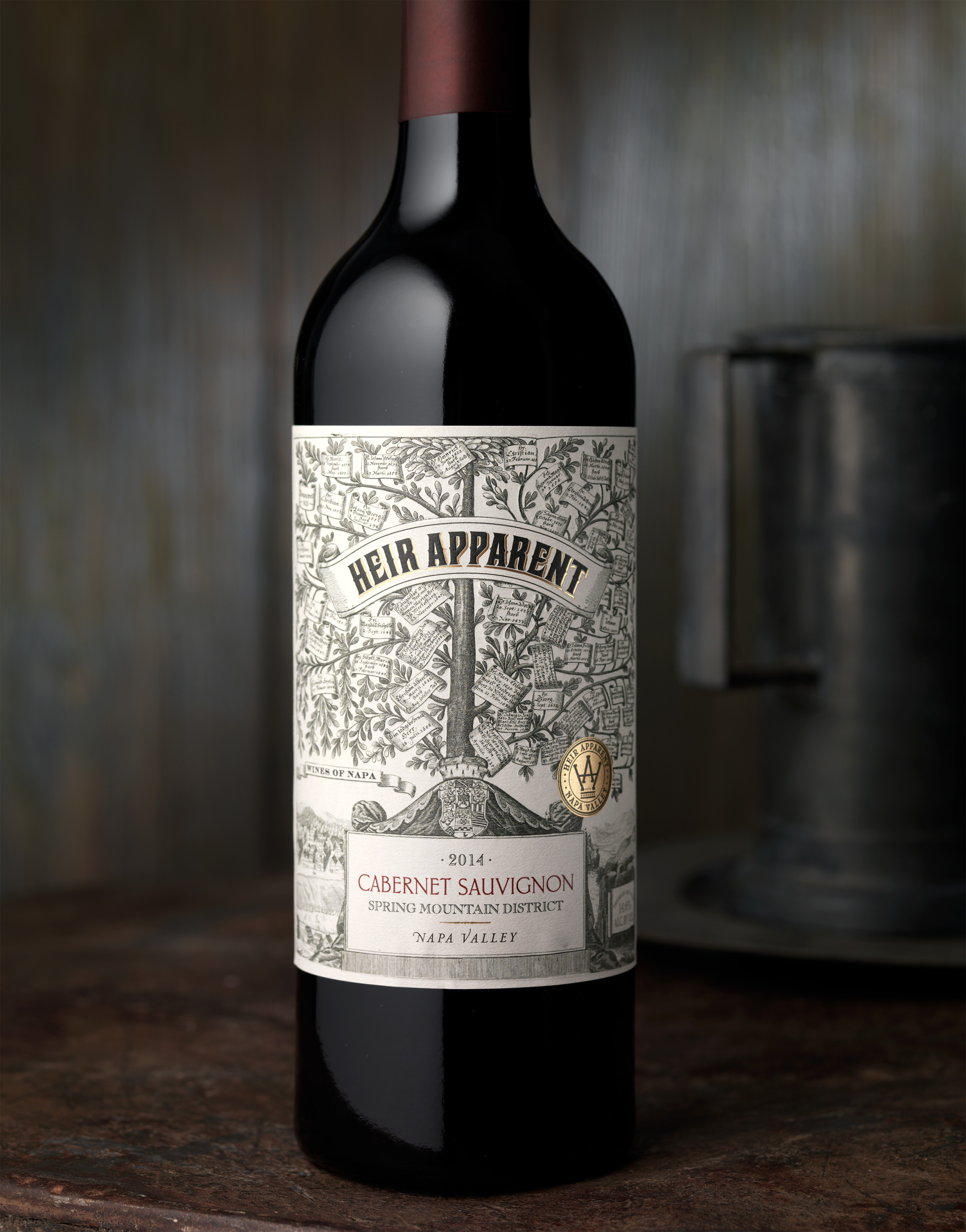 Heir Apparent Celebrates a Lineage of Great Winemakers – CF Napa Brand Design