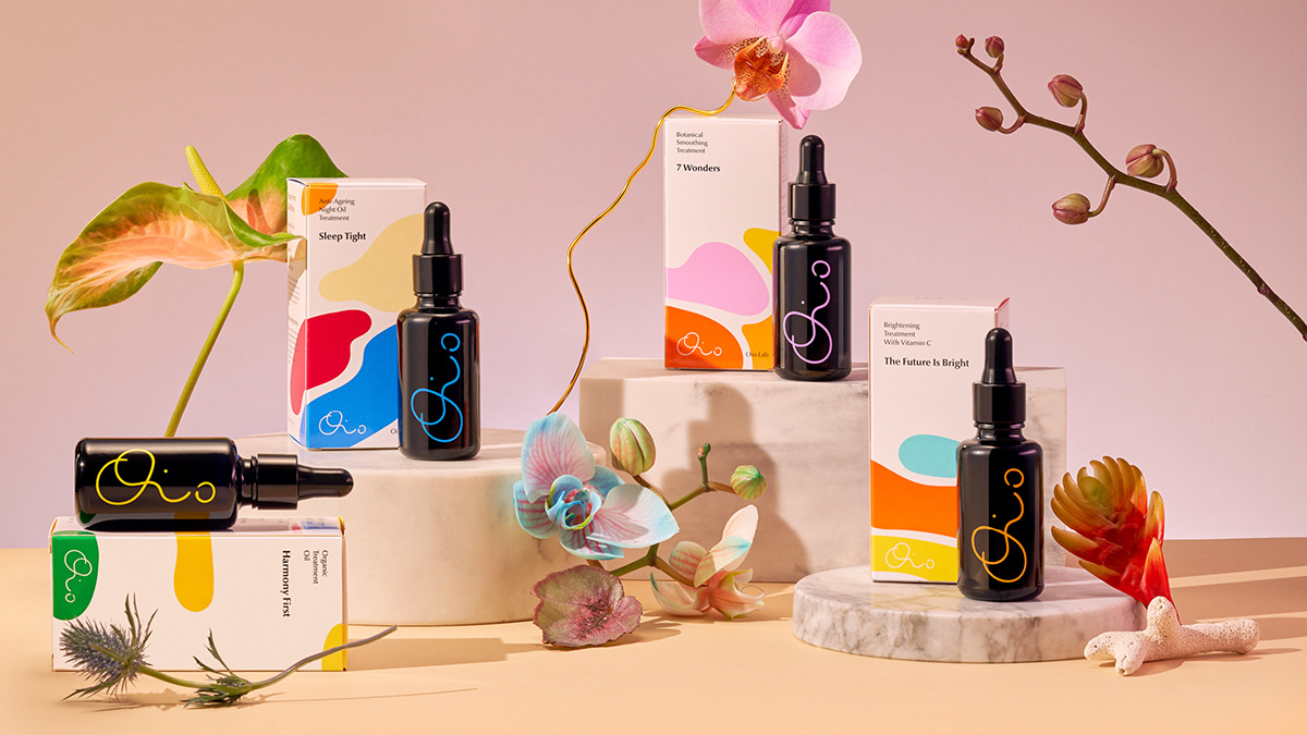 Hugmun Design for Oio Lab Skincare Products