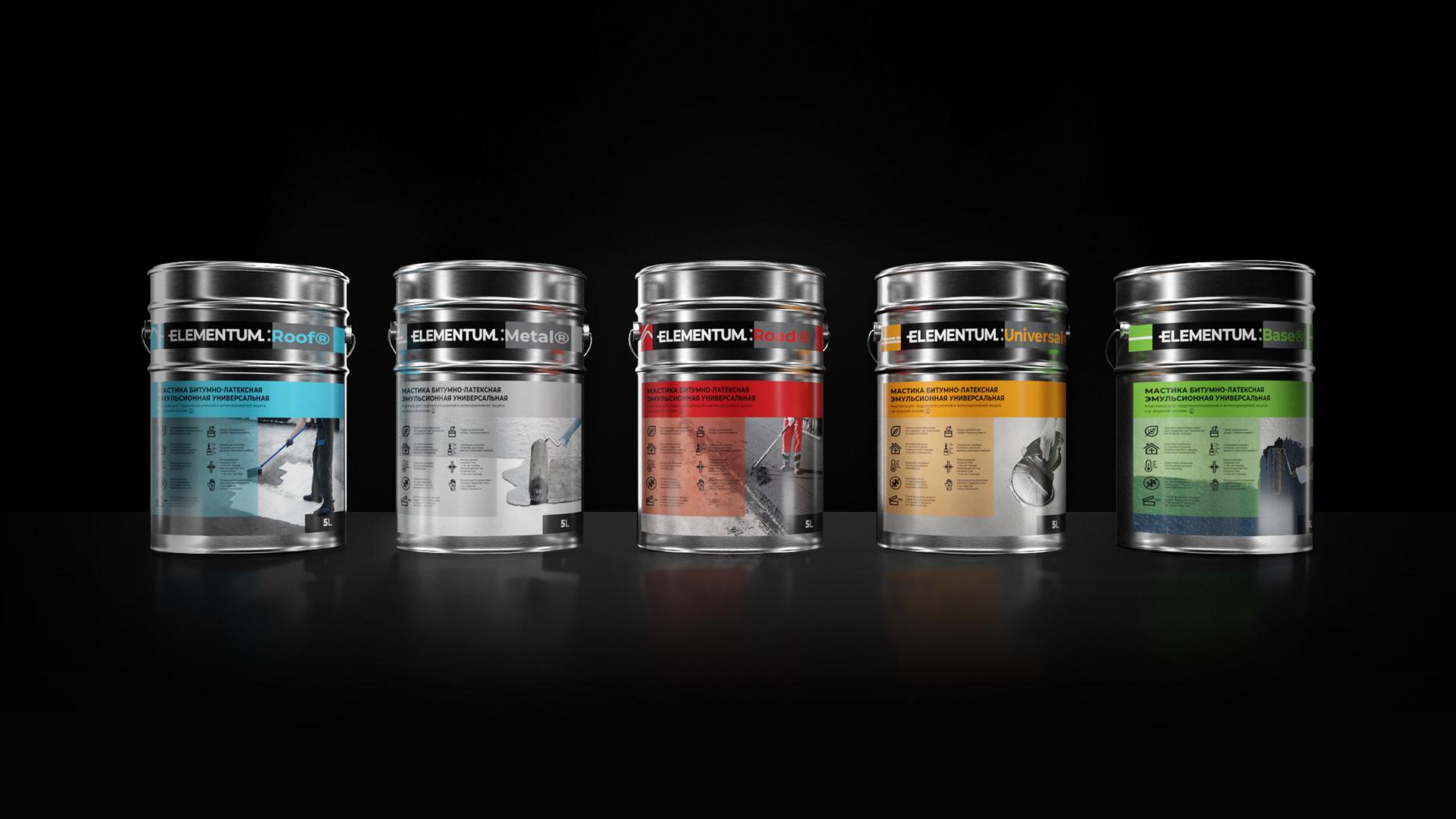 Trademark for Bitumen Products Elementum