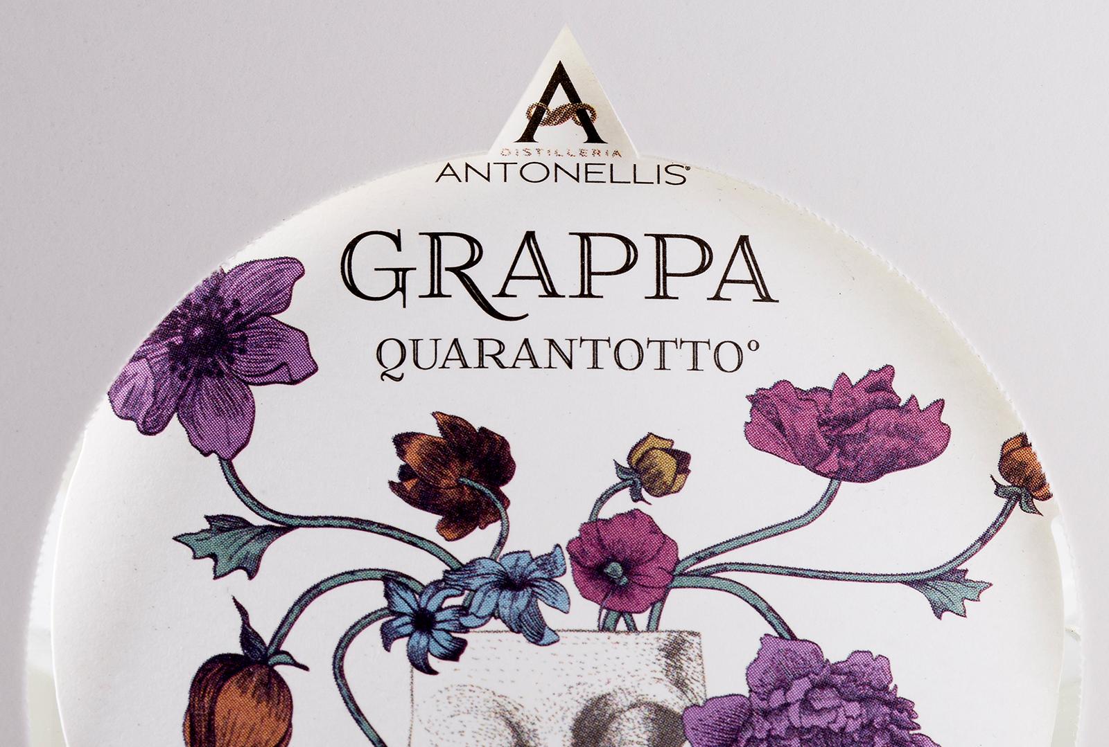 Branding And Packaging Design For Destillerie Antonellis