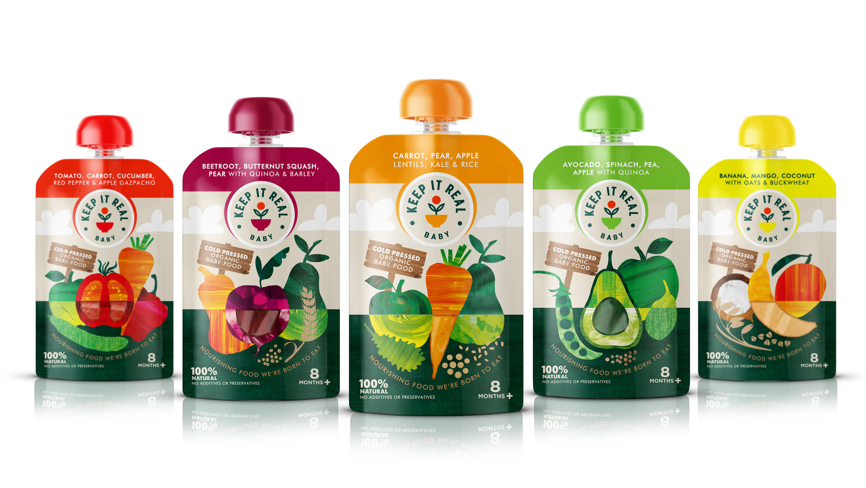 Keep It Real Fresh Organic Baby Food