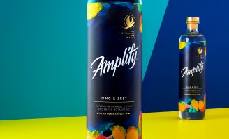 """News: Elmwood Leeds Creates Amplify, a Bold, Playful New Zero-Alcohol Drinks Brand That is """"Free of Alcohol, Free in Spirit."""