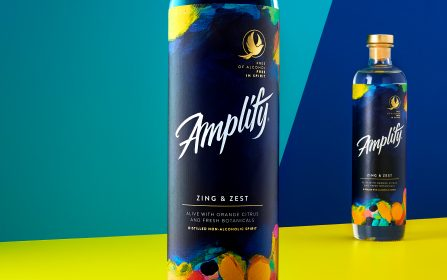 "News: Elmwood Leeds Creates Amplify, a Bold, Playful New Zero-Alcohol Drinks Brand That is ""Free of Alcohol, Free in Spirit."