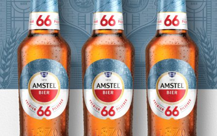 News: Elmwood London Creates Design for Launch of Low-cal Beer Amstel 66