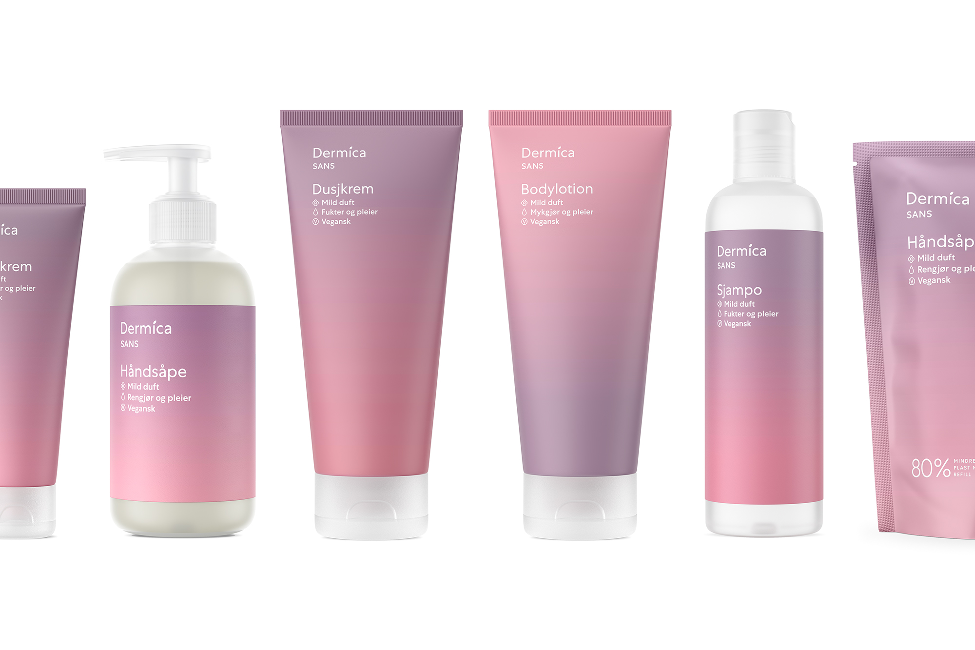 The Dermica Vegan Skincare is Inspired by the Gradient