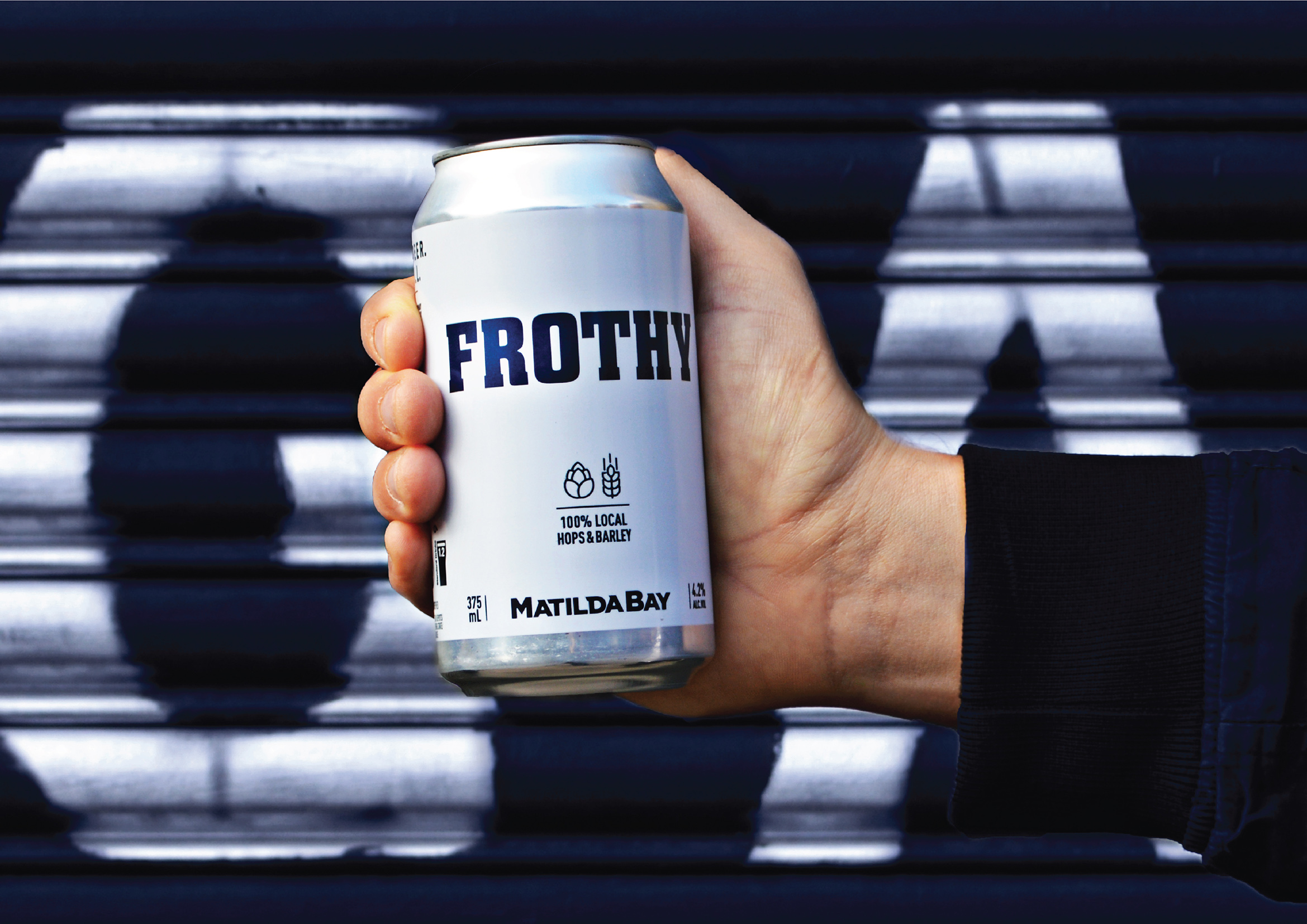 WhatCameNext_ Designs a Great Beer With No Bull – Grab a Frothy!