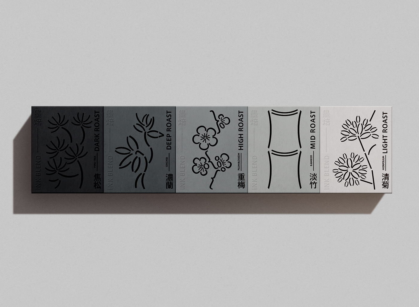 Ink Blend Coffee Visual Identity Design