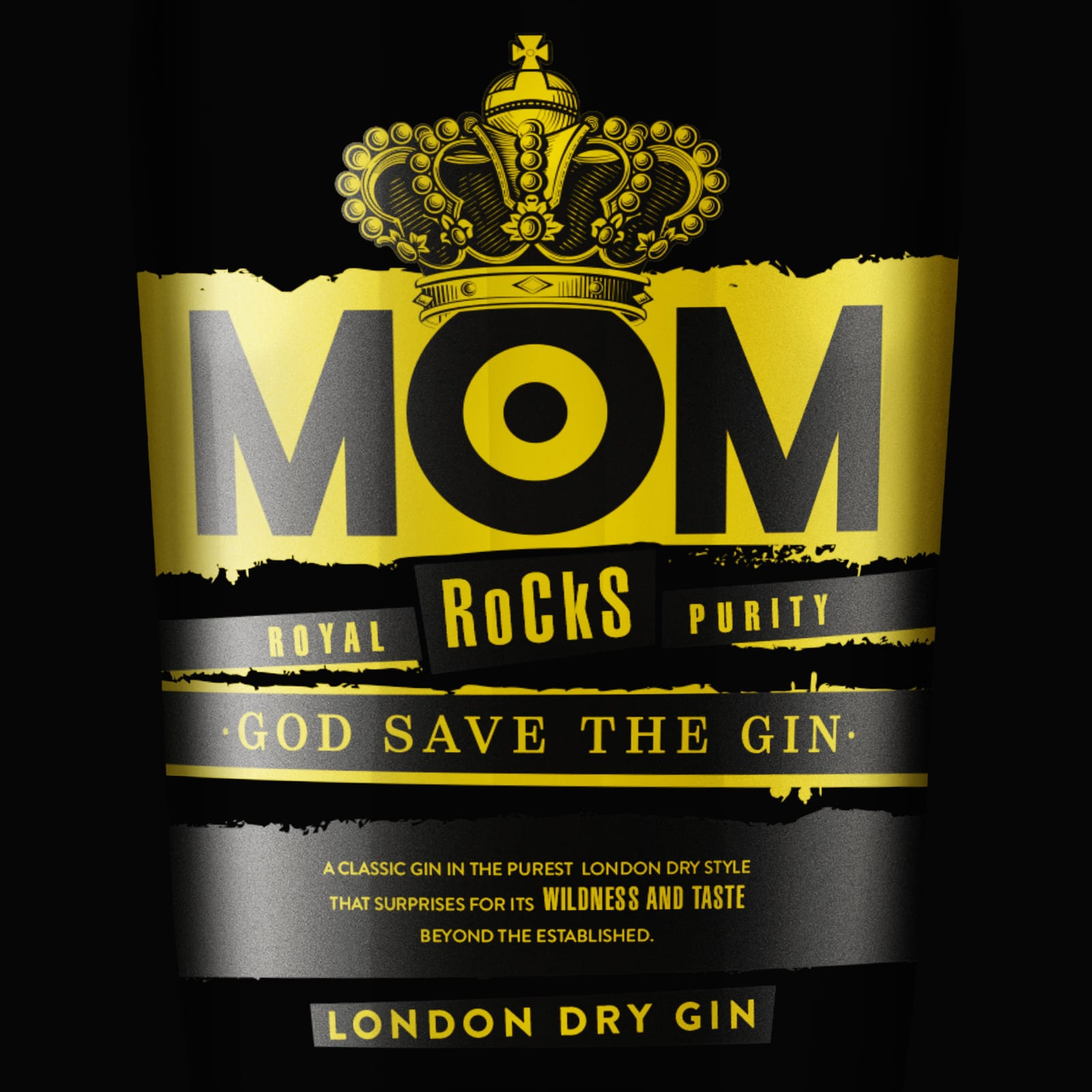 Epica Creates Unique Design Inspired in Punk Culture for a London Dry Gin