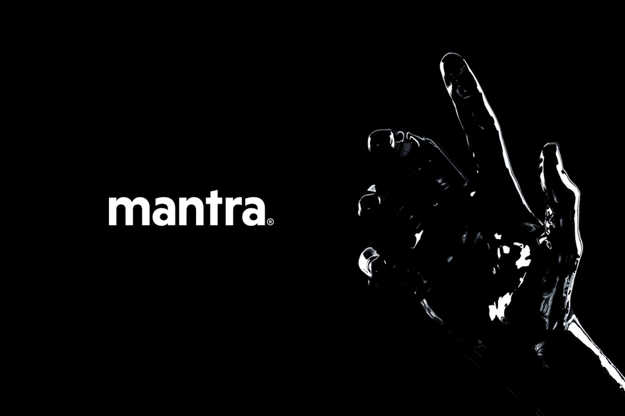 If You Are Waiting for Design, This is It. Mantra | Rebranding
