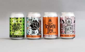 In-Store Exclusive Reunion Ales x Flamboree! Collaboration Cans by SAINT Design