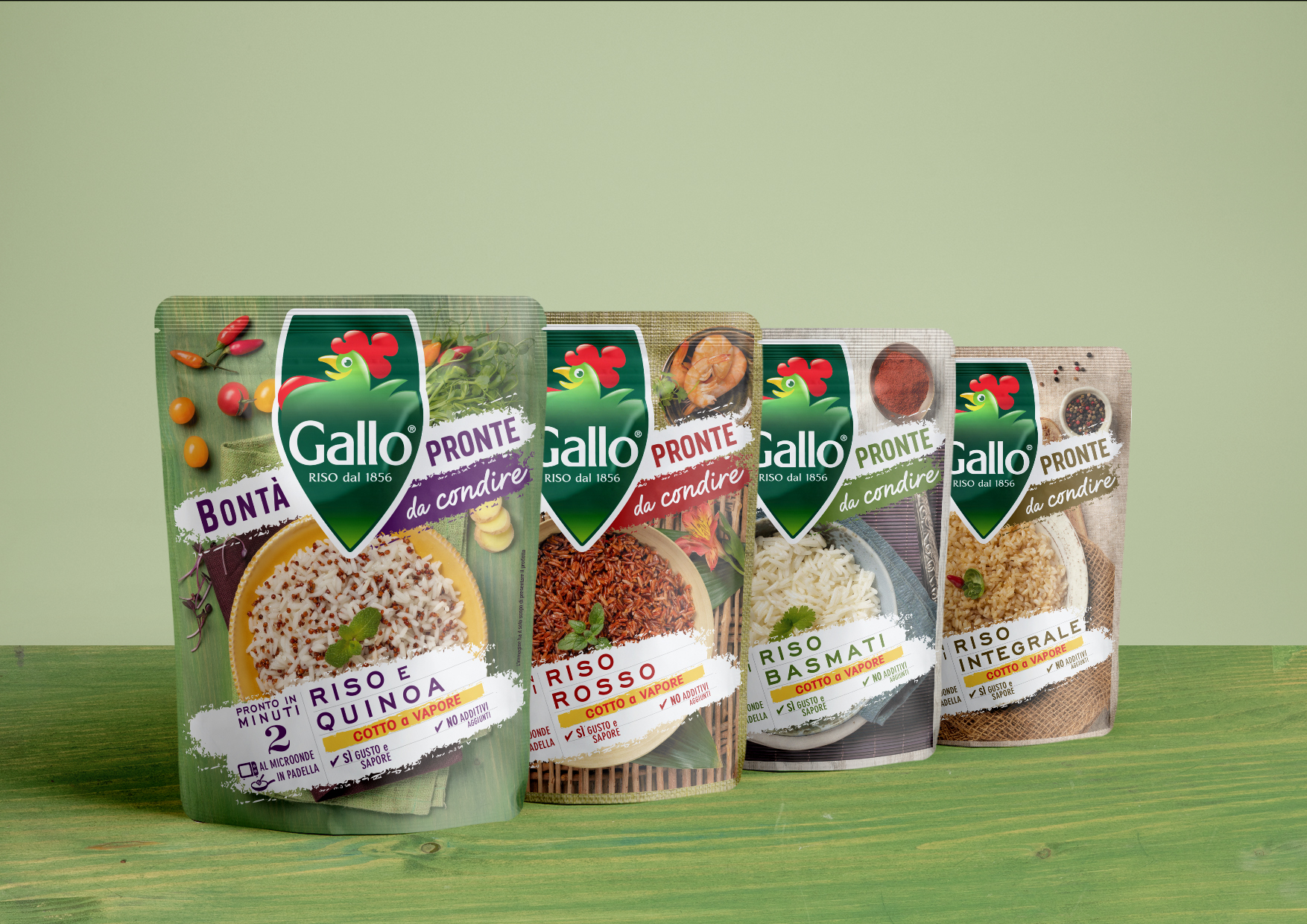 New Visual Identity for a Riso Gallo Ready to Eat Products