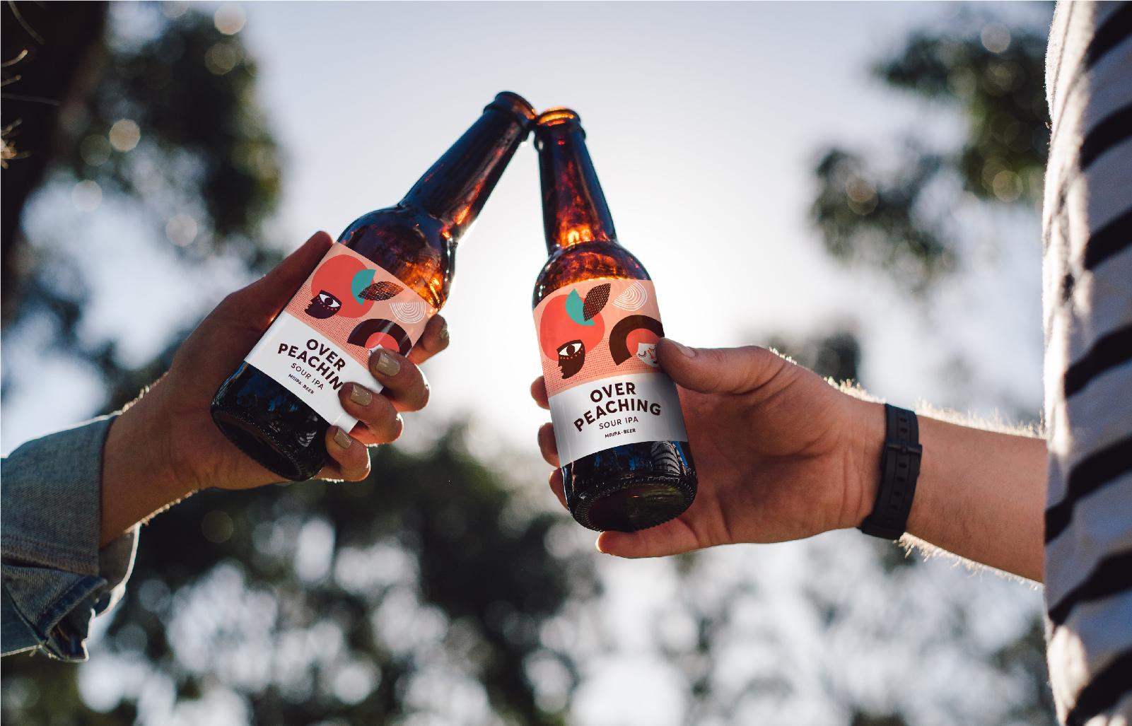 Overpeaching Beer – Sour IPA