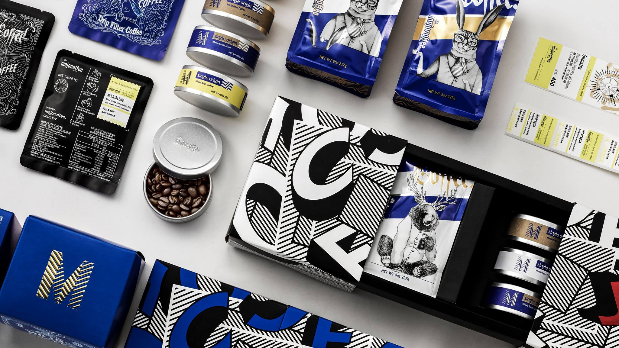 Mojocoffee  2017 Packaging Redesign