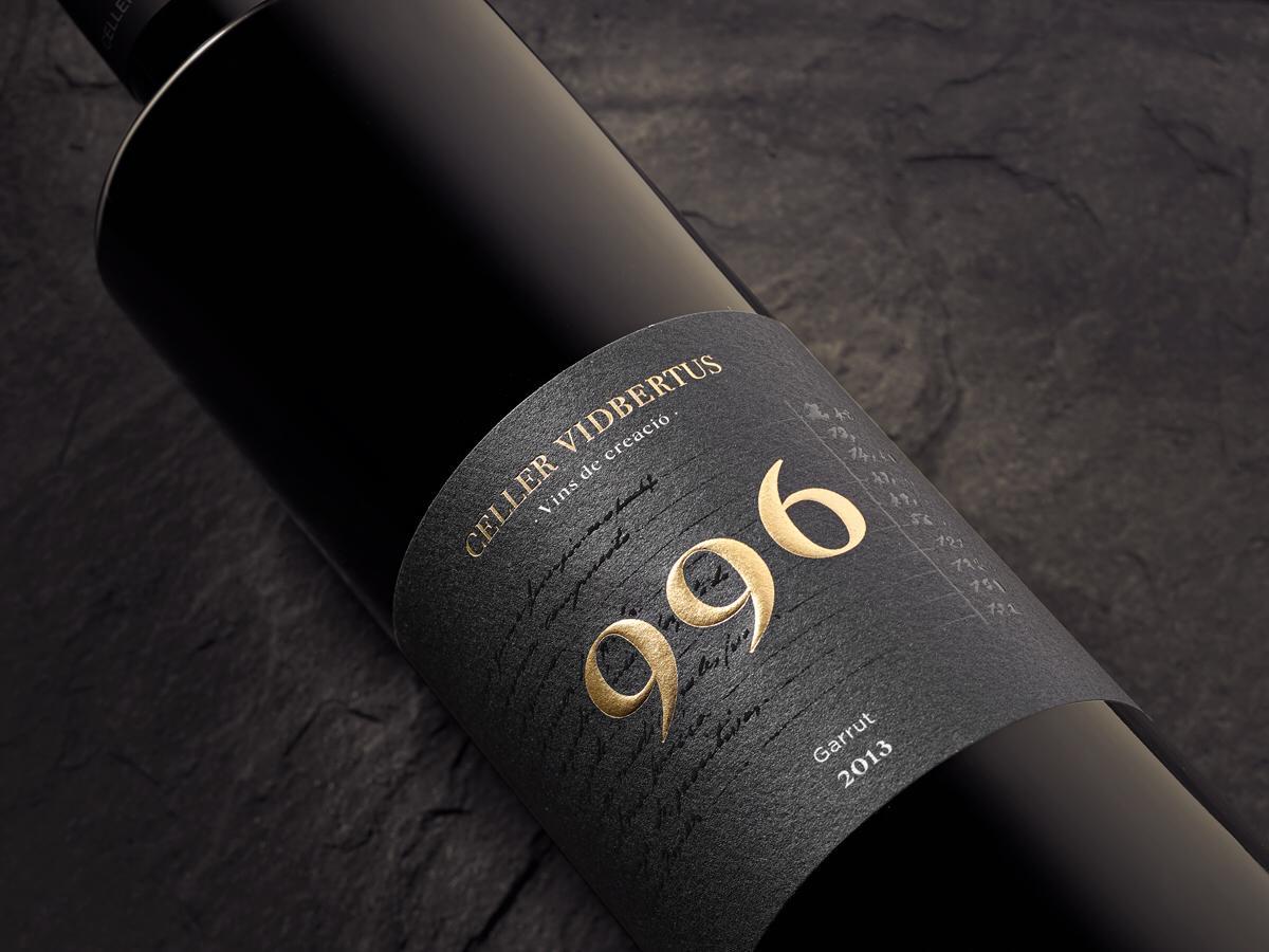 Wine 996 for Vidbertus Cellar