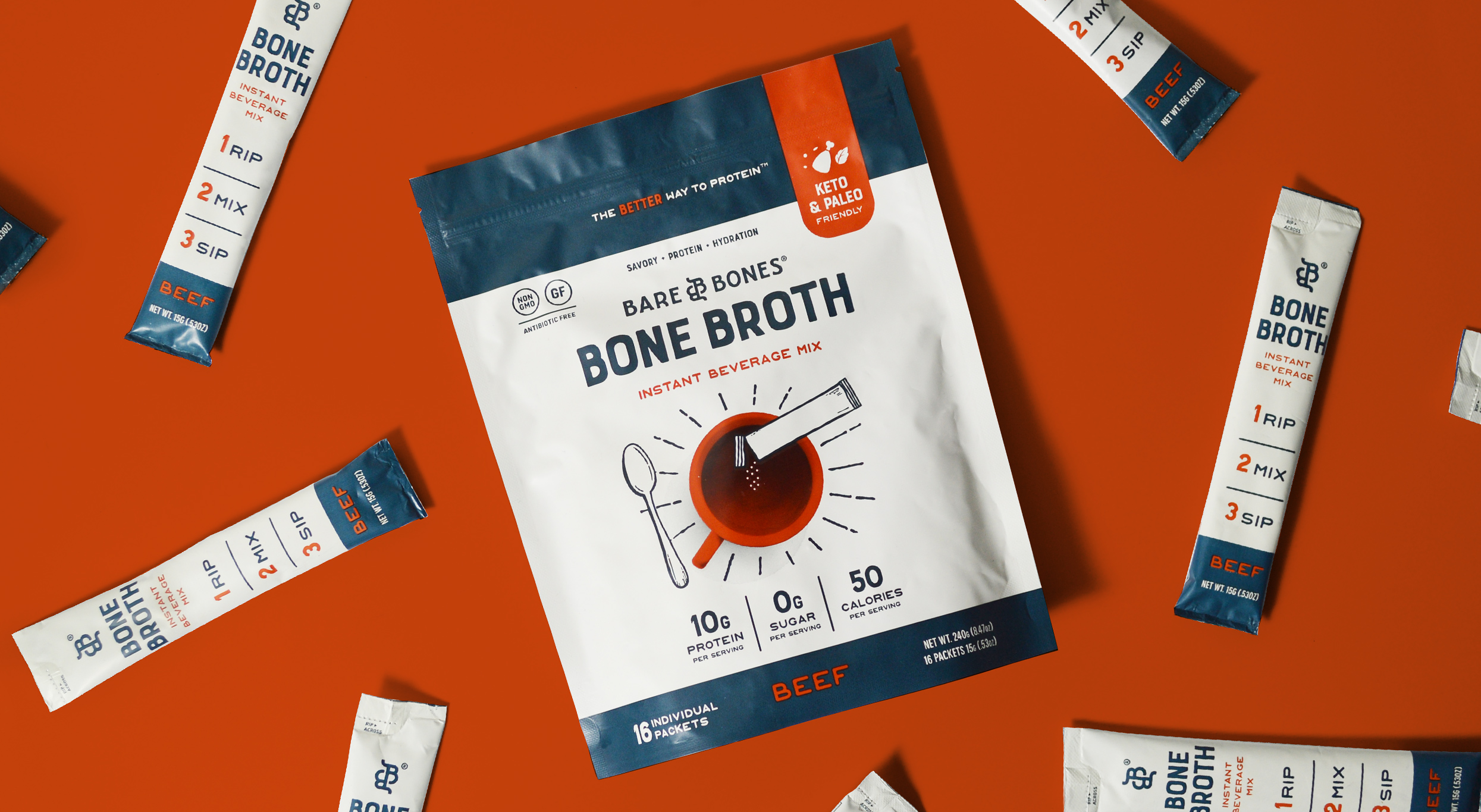 Macaroni Creative Creates New Look for Bare Bones Bone Broth