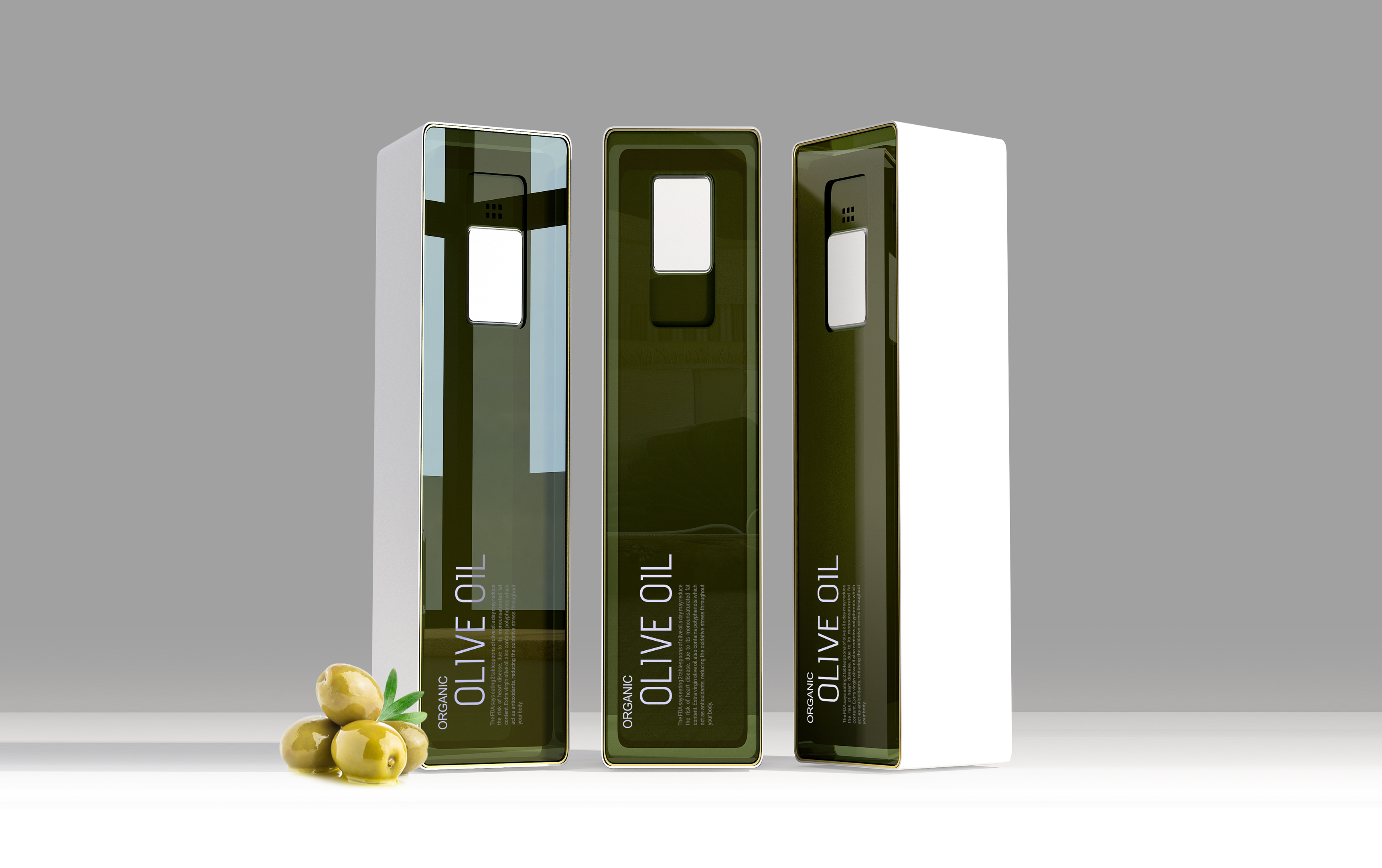 Taha Fakouri Creates New Olive Oil Concept Bottle Design