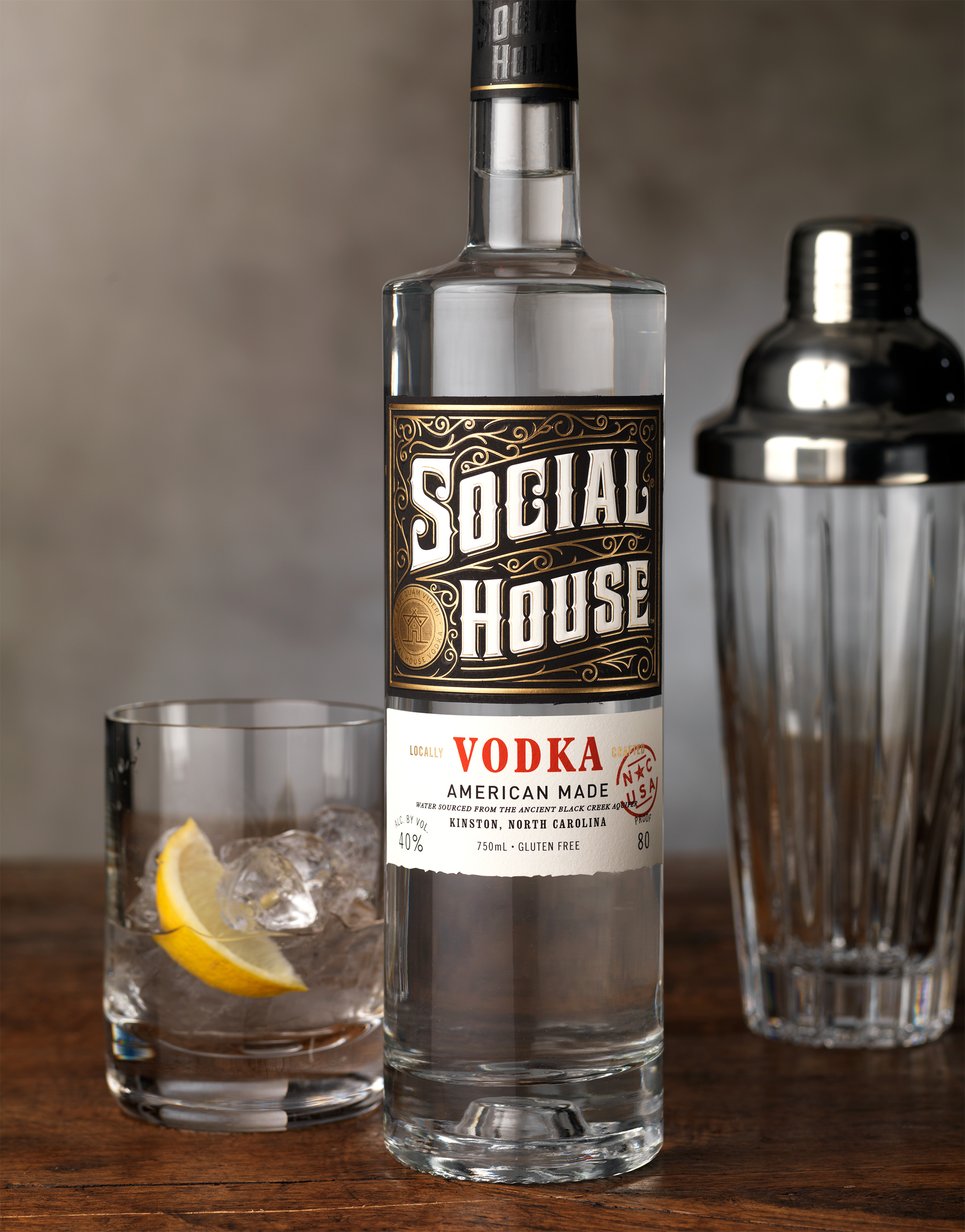 Social House Captures the Essence of a Speakeasy – CF Napa Brand Design