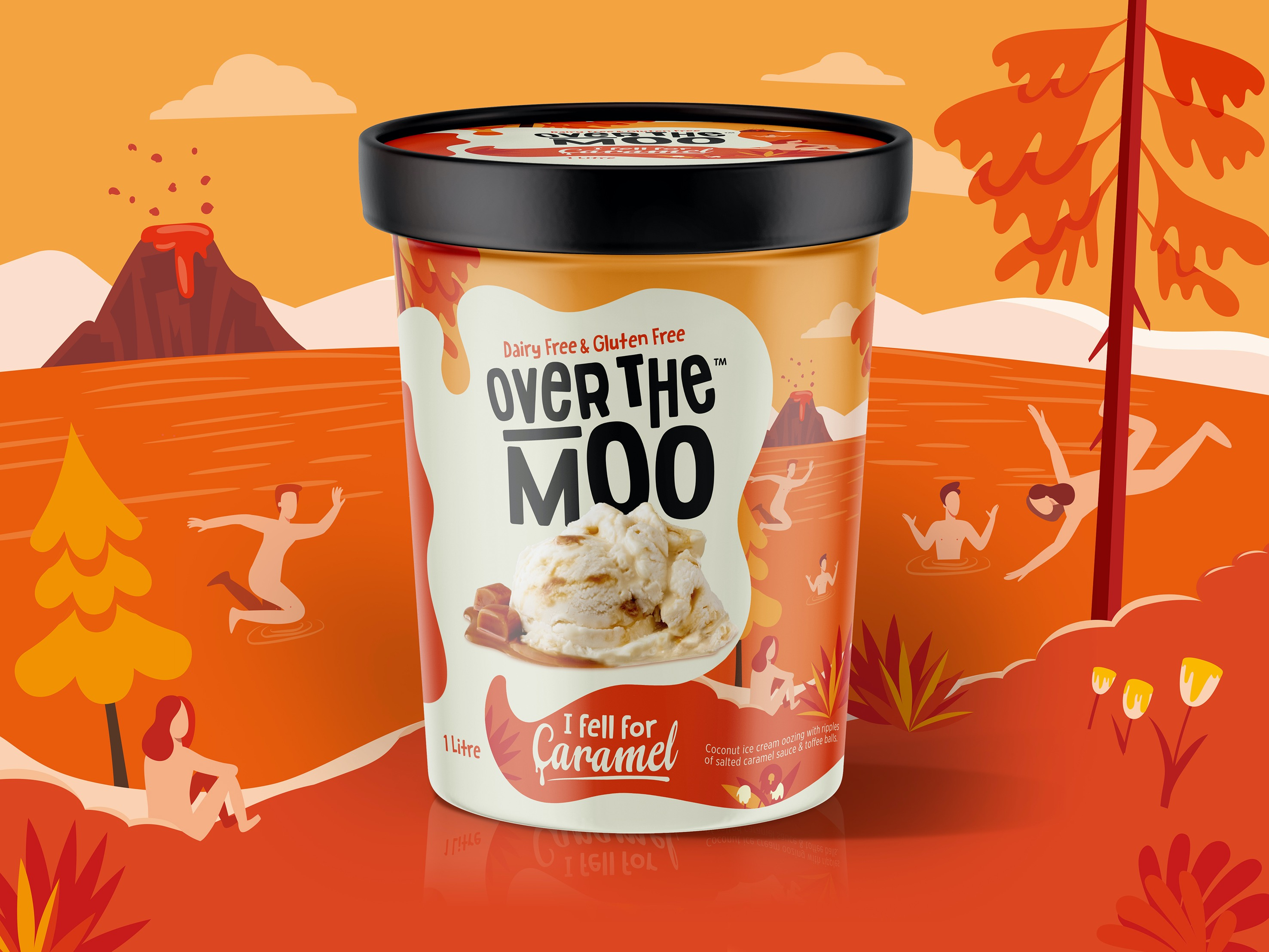 Packaging Refresh for Over The Moo