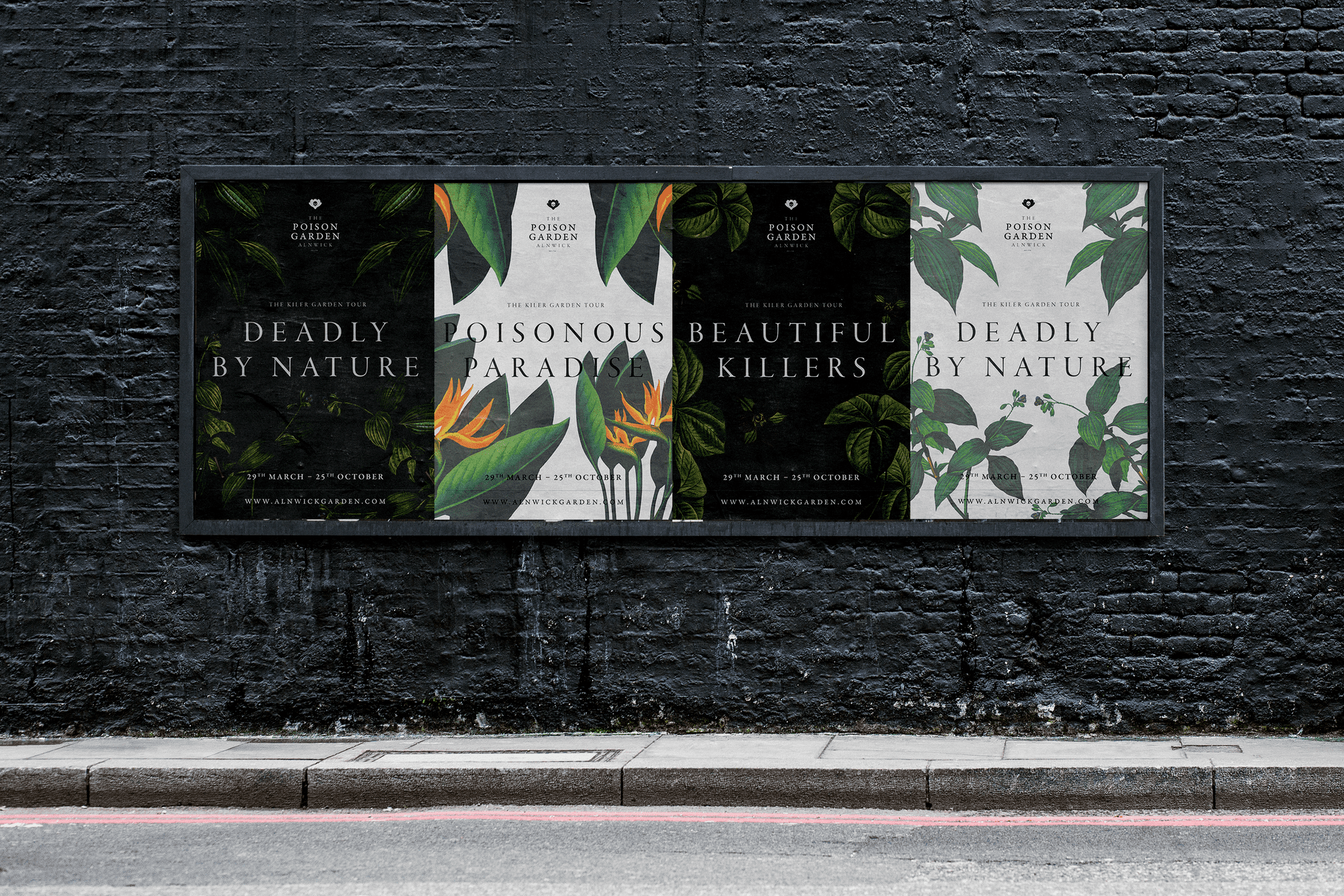 Deadly By Nature: A Darker Reimagining of the Alnwick Poison Garden Brand