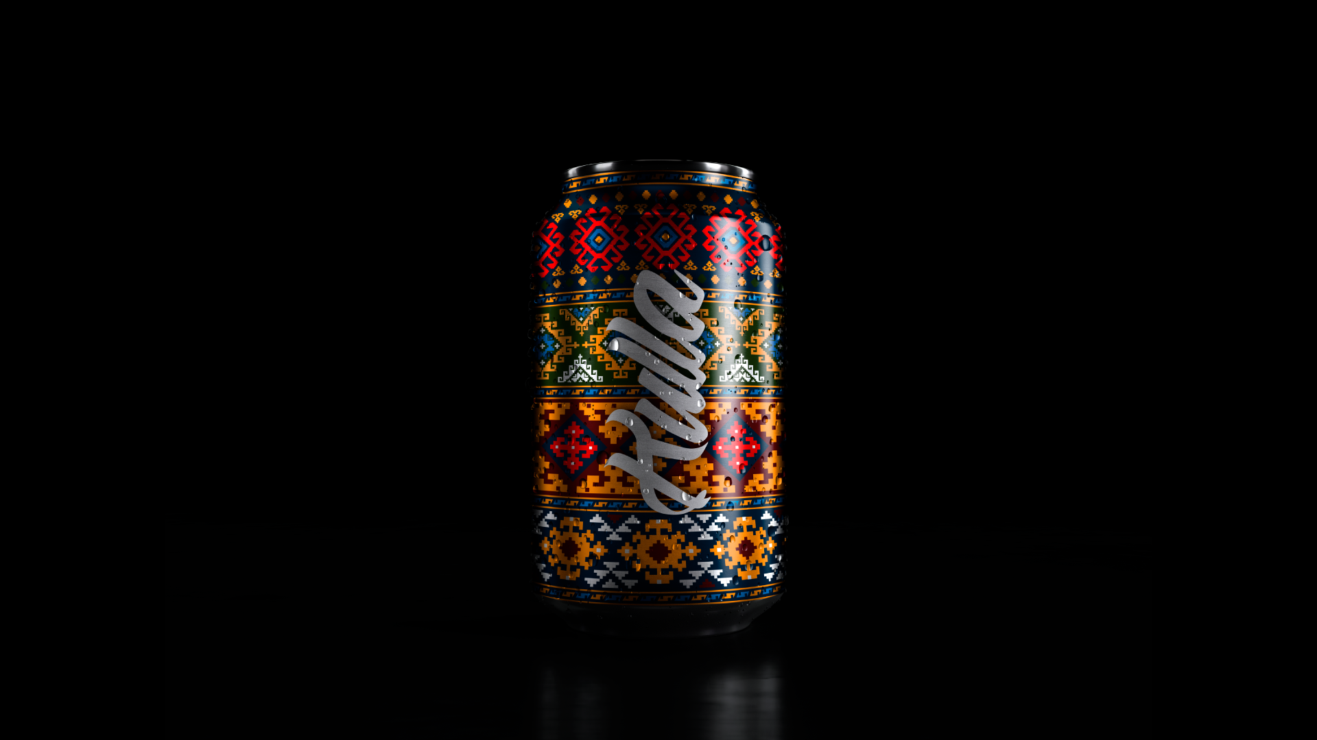 Package Design Concept For Armenian Carbonated Drink Brand