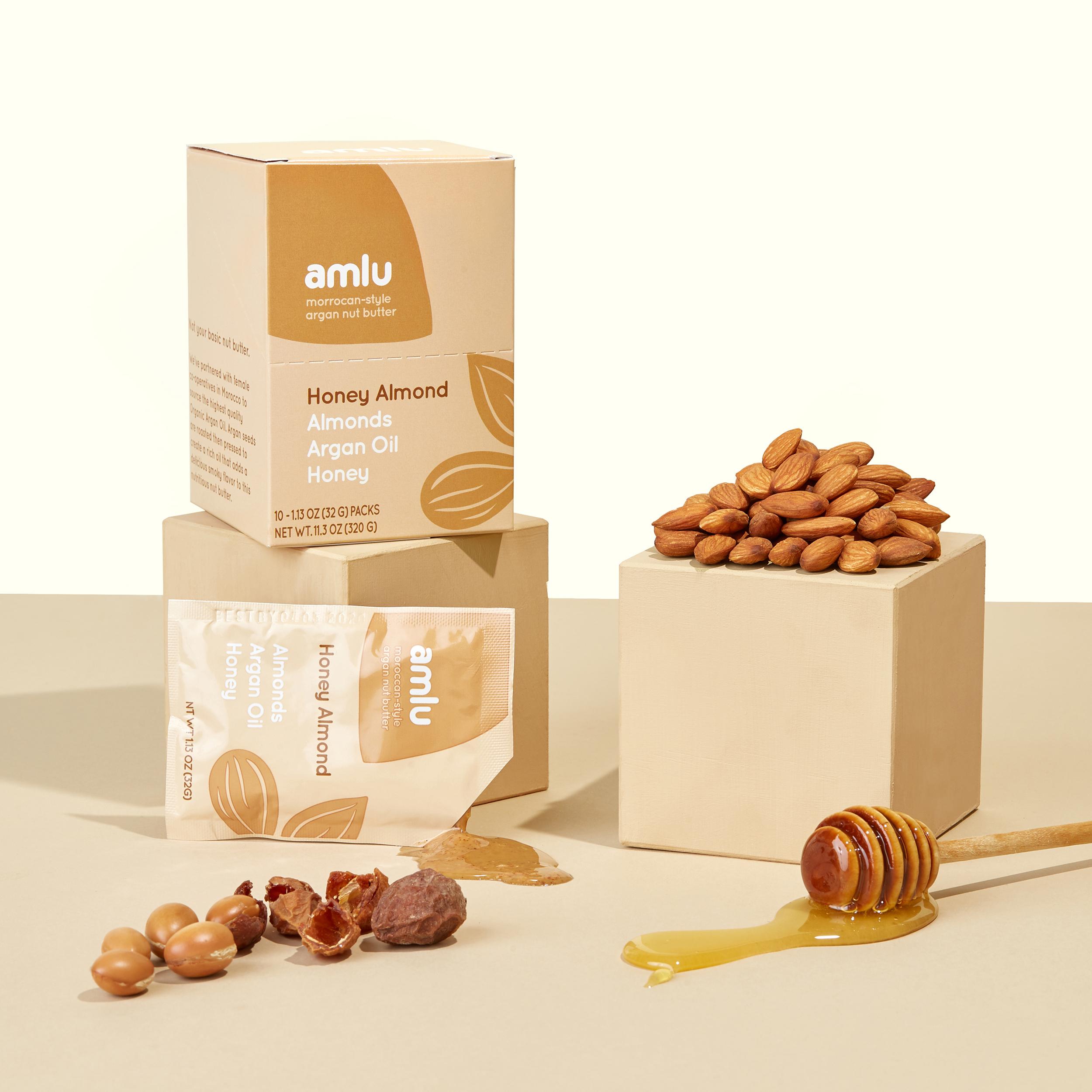 Amlu Argan Nut Butter Packaging Design