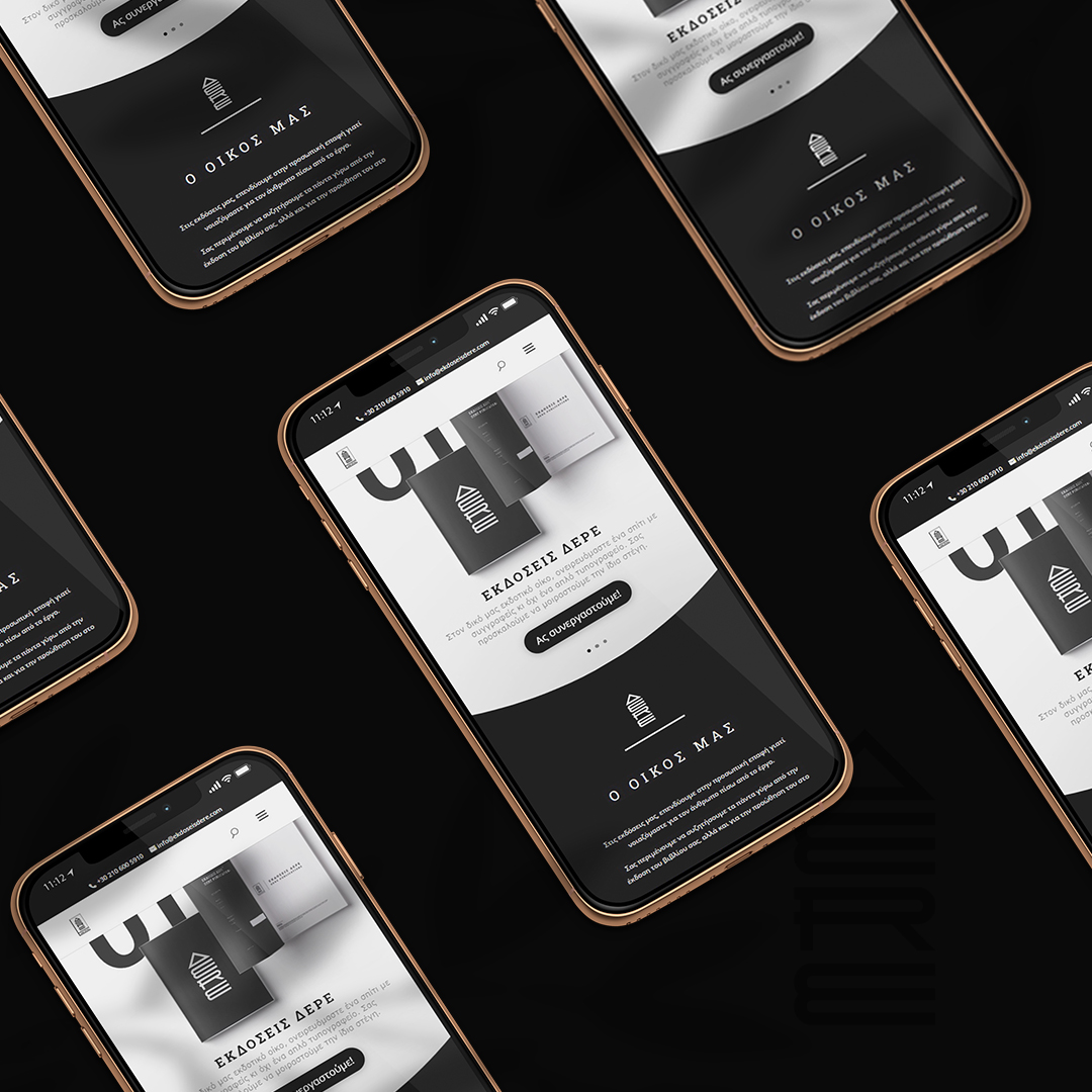 Branding and UI for Publishing House