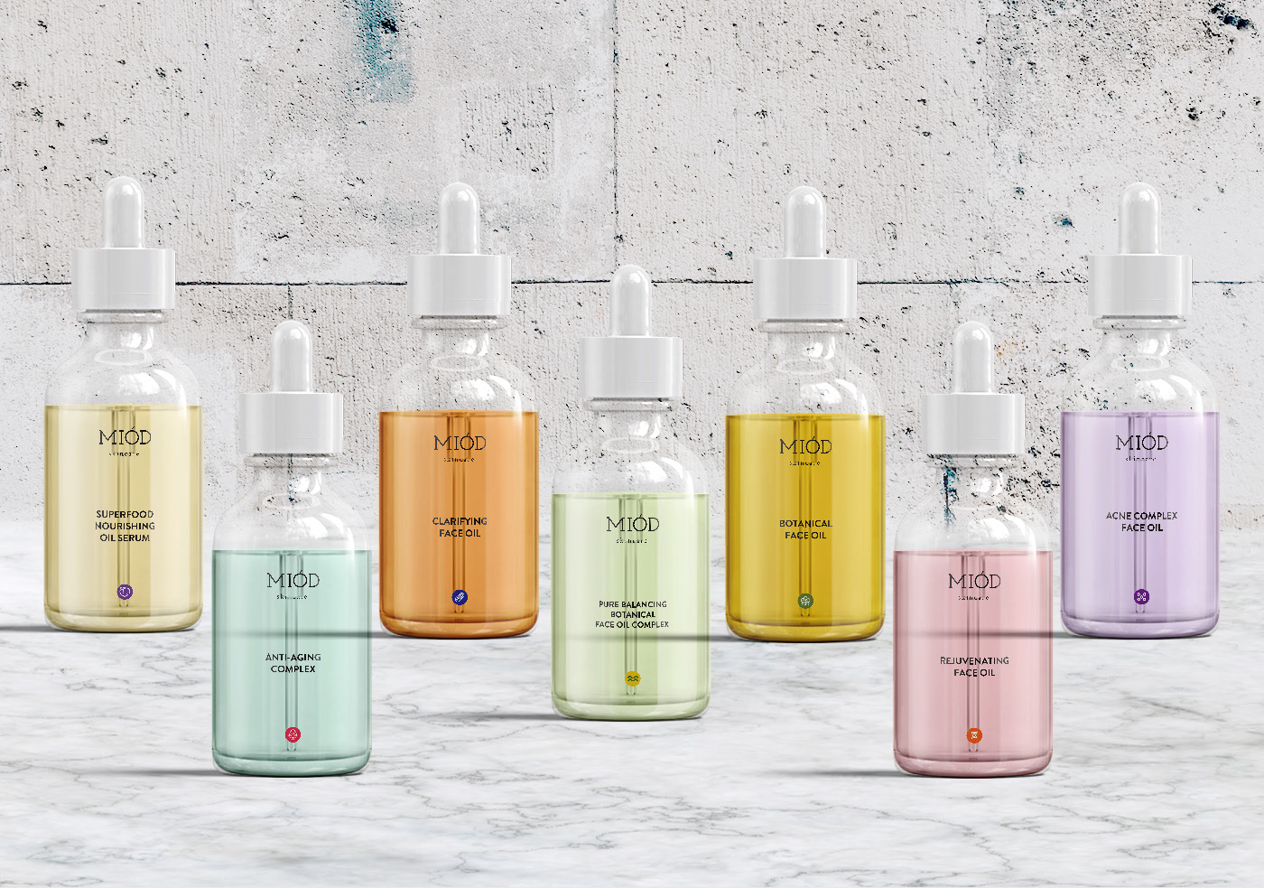 Skincare Packaging Design for Miod Australian Organic Skincare