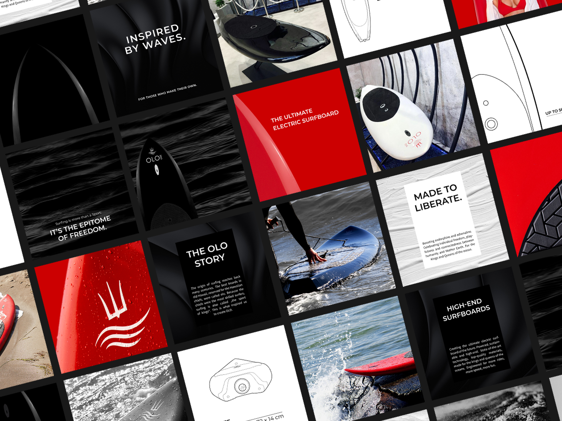 Branding for Electric Surfboards