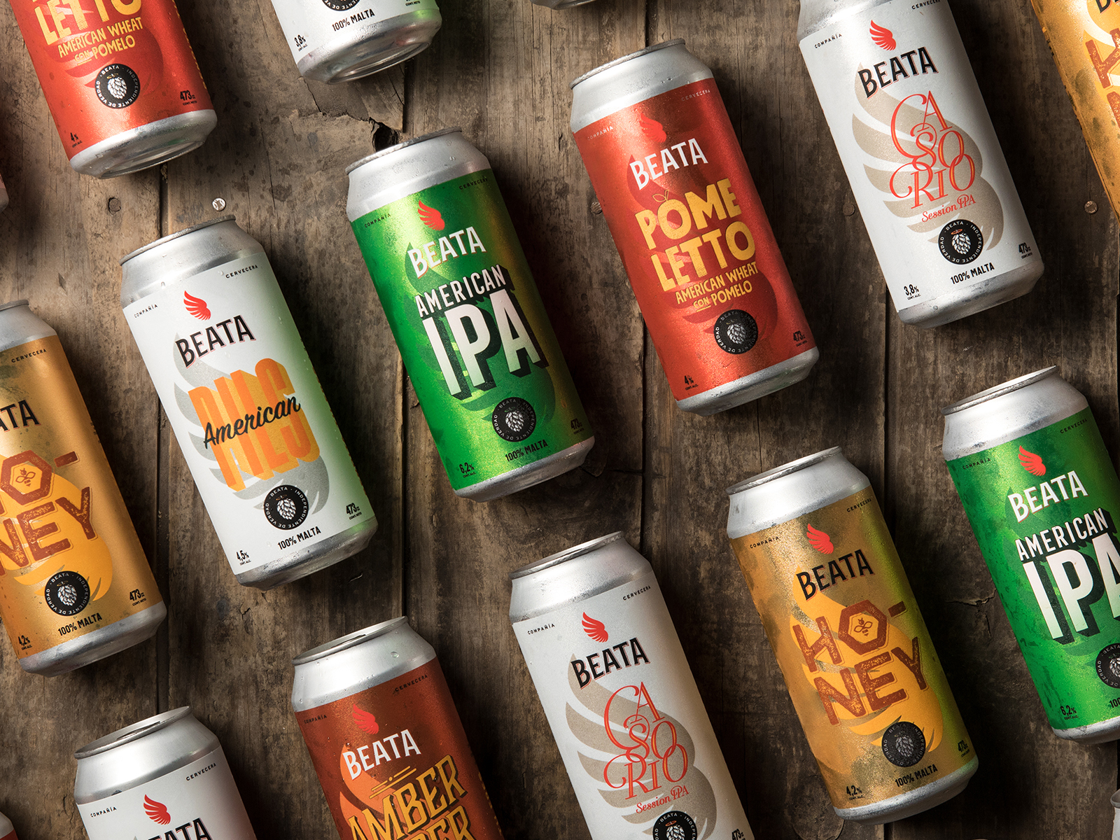 Beata Craft Beer brand Design