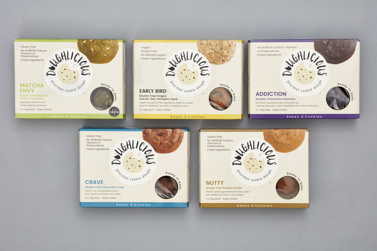 Centre Creative Designed for New Cookie Dough Packaging Design