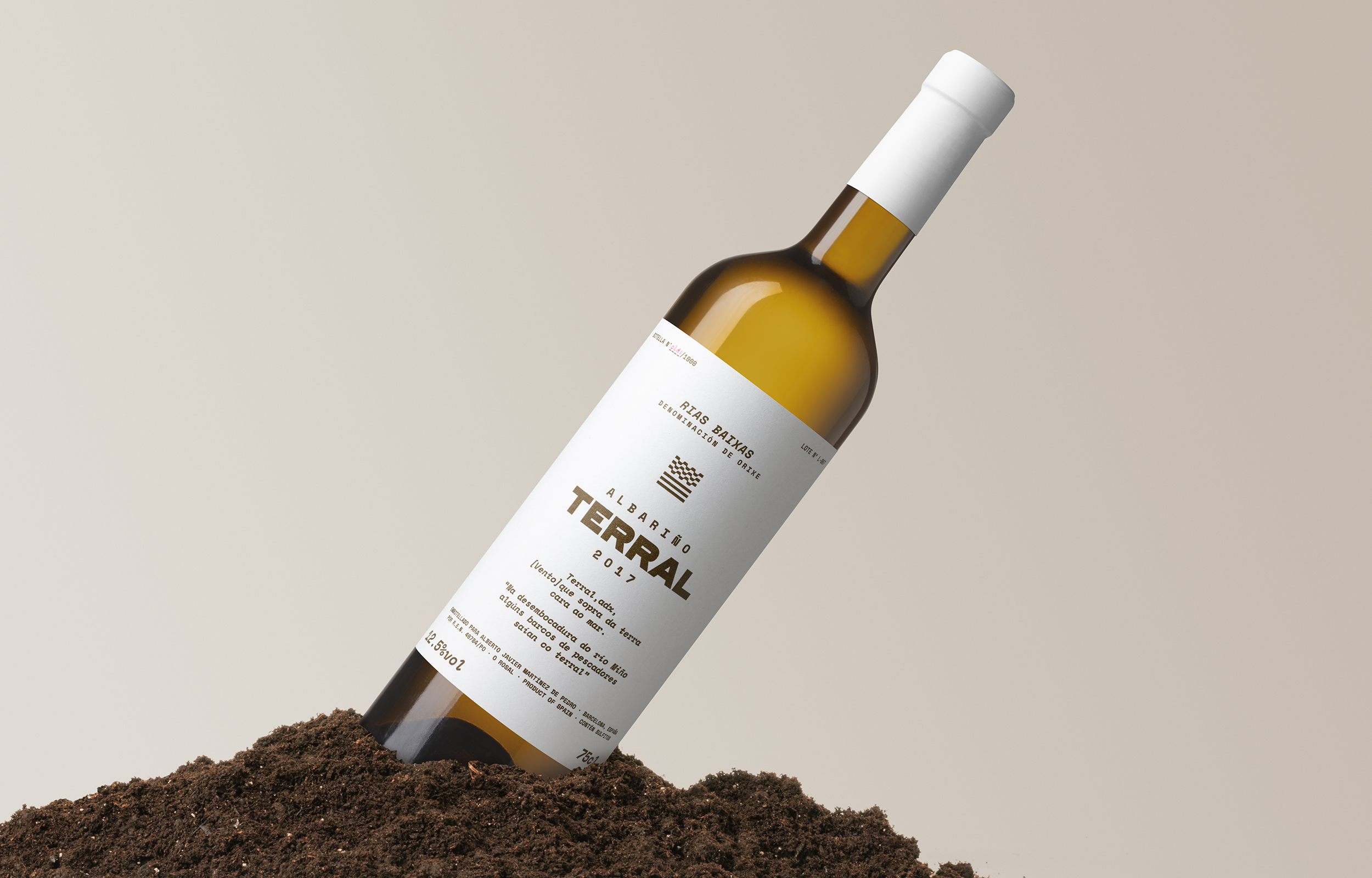 Diferente Creates Naming and Packaging for Terral, an Exquisite Wine Produced in Galicia