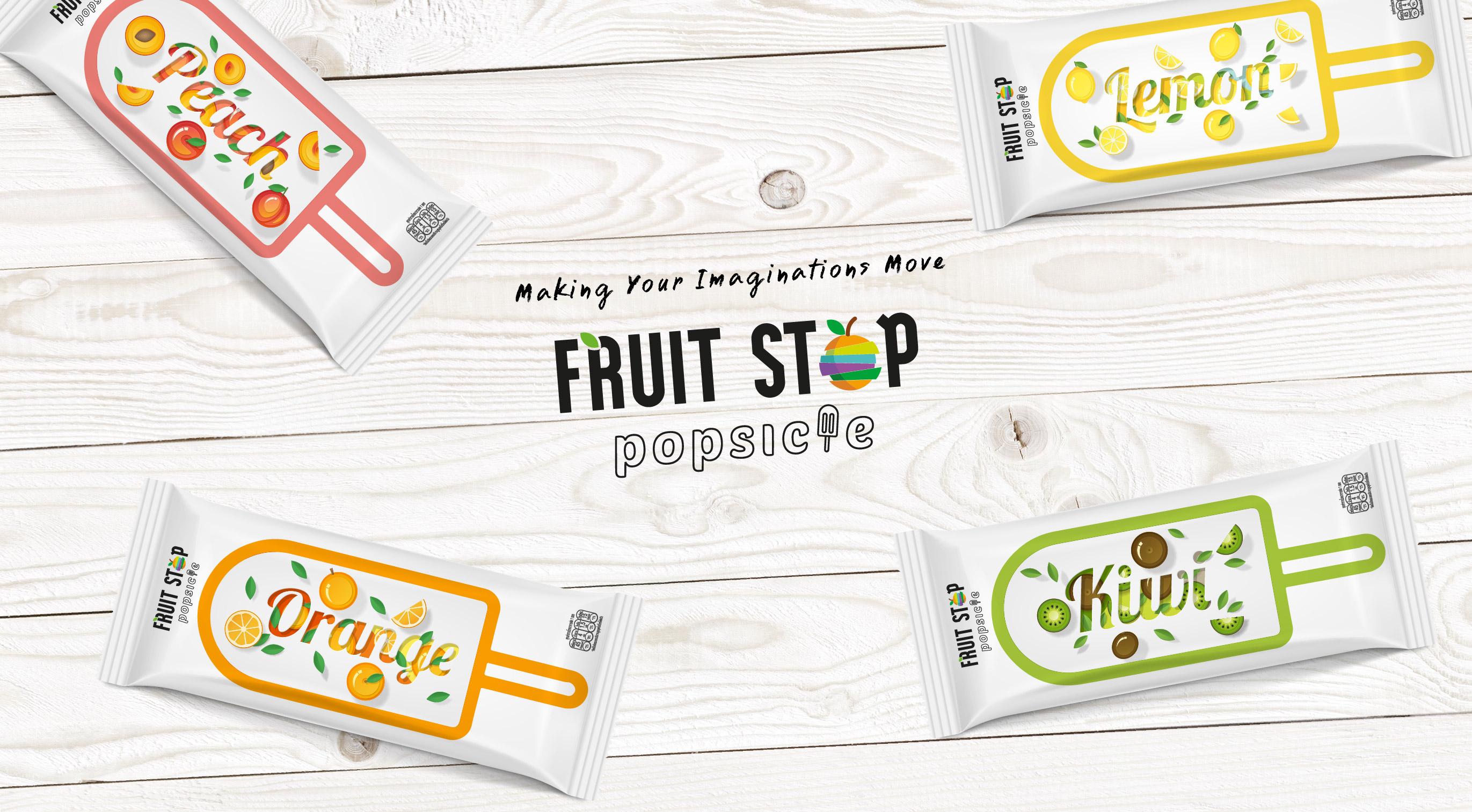FruitStop Popsicle Packaging