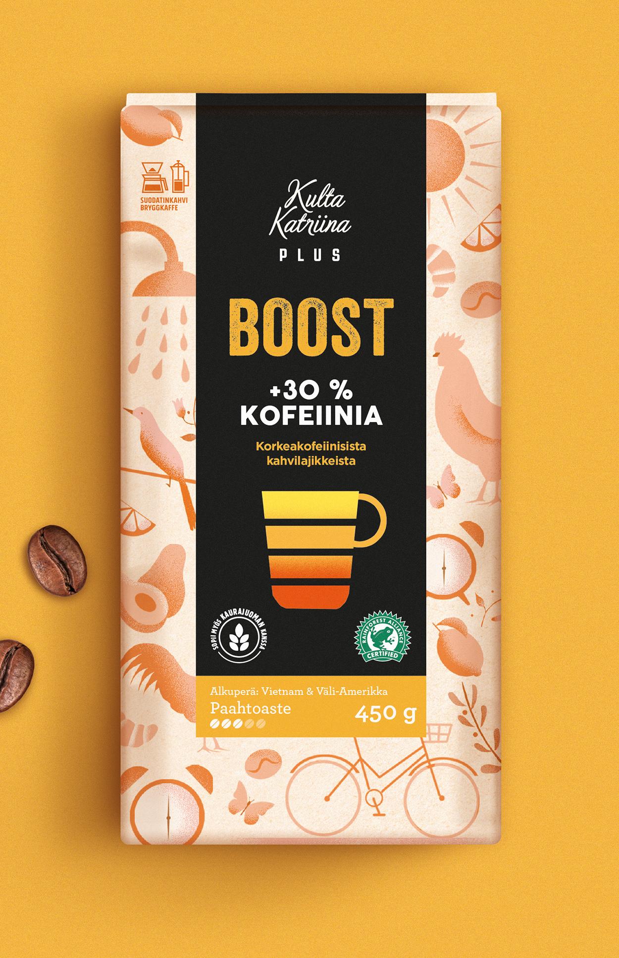 New Kulta Katriina Plus Packaging Design