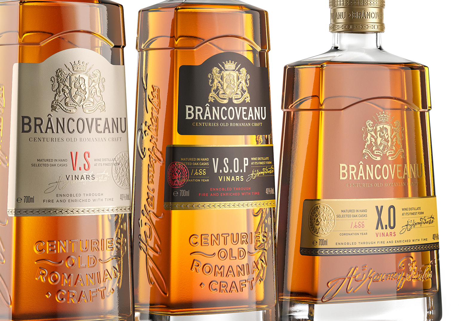 Appartement 103 Redesigns Premium Romanian Brandy Brancoveanu