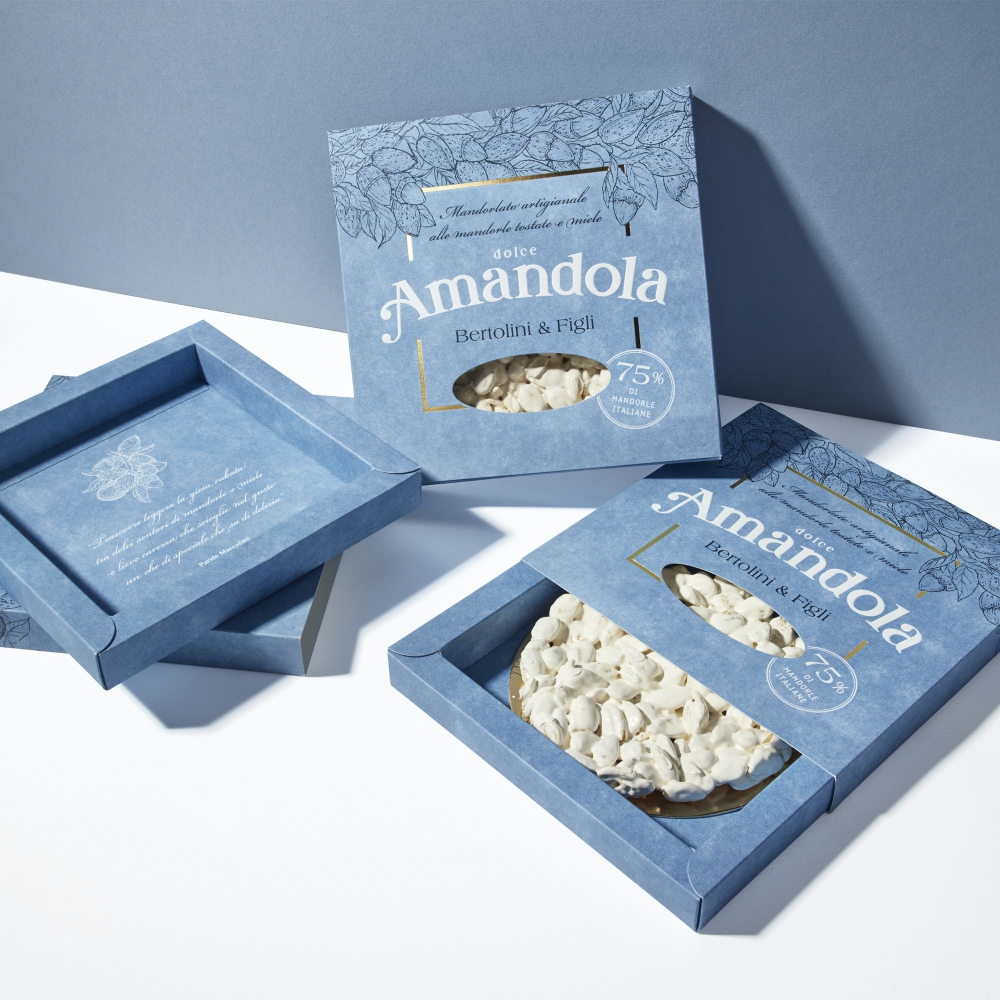 Amandola Brand and Packaging Creation
