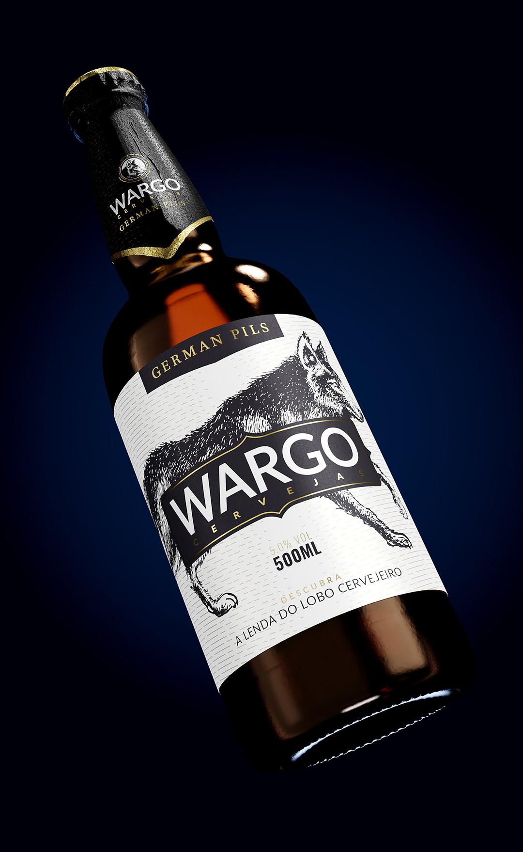 Embalagem Cerveja Germal Pils Wargo