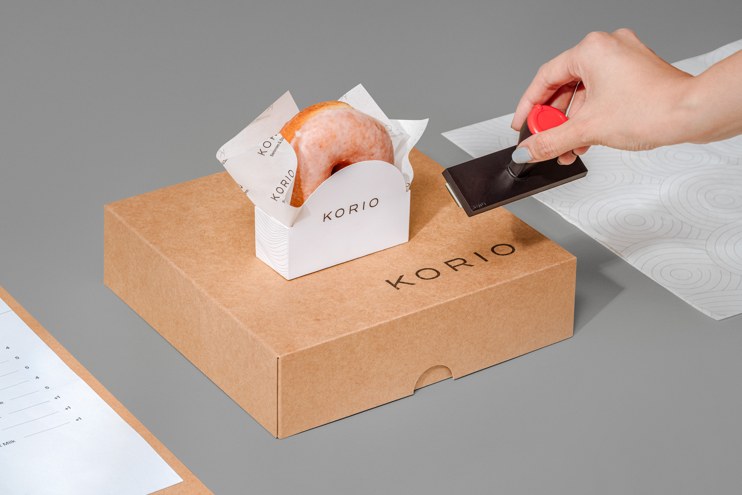 Korio Branding by Fable