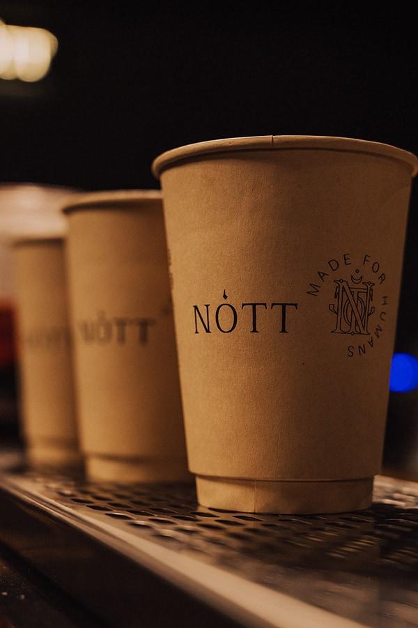 Nótt Cafe Logotype and Visual Identity Design